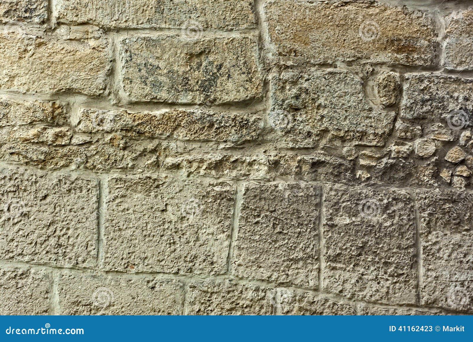 Dettaglio di vecchia parete di pietra
