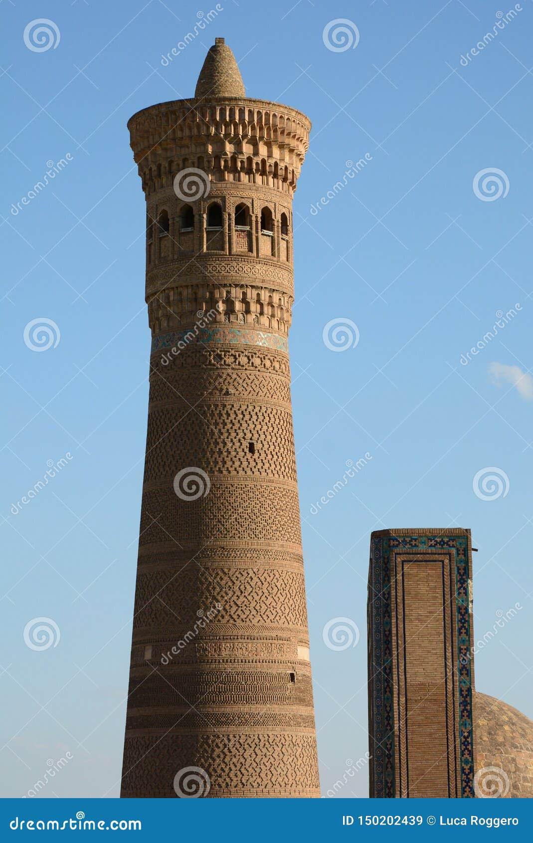 Dettaglio Kalyan Minaret Complesso Po-io-Kalyan buchara uzbekistan