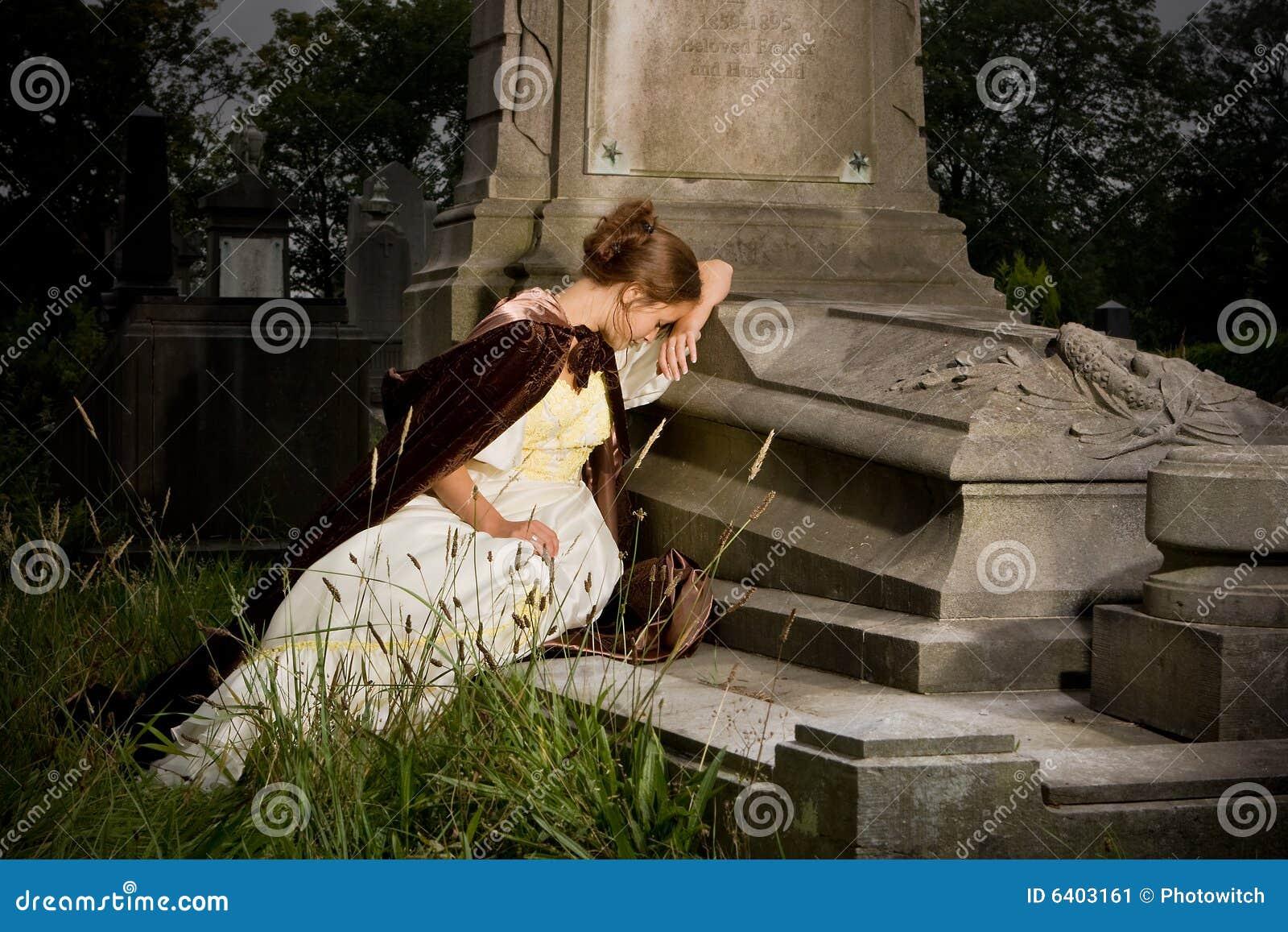 Deuil sur un tombeau