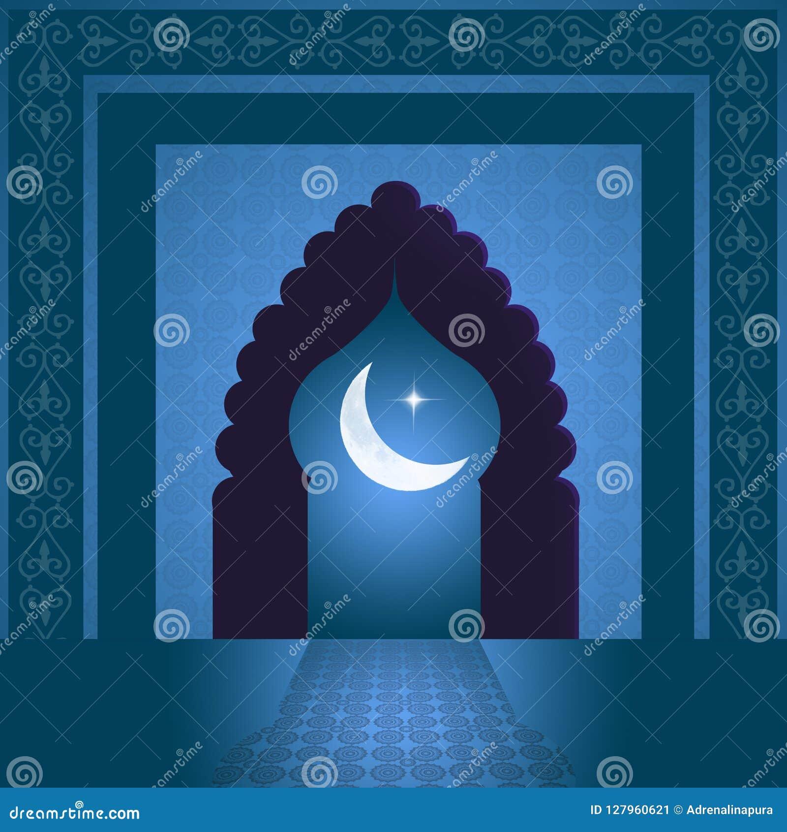 Deur van de Moskee