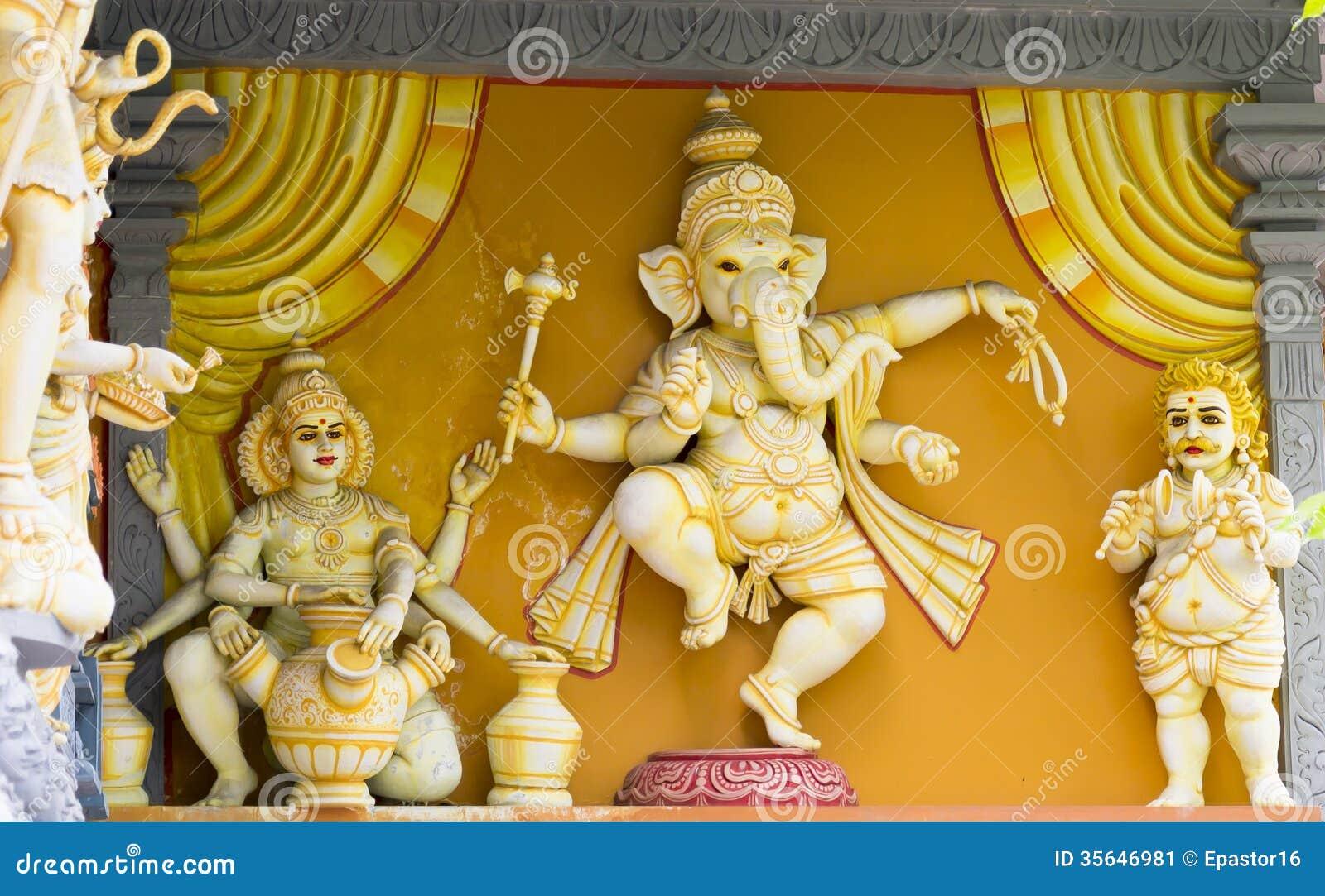 Deus Ganesh Statue do elefante