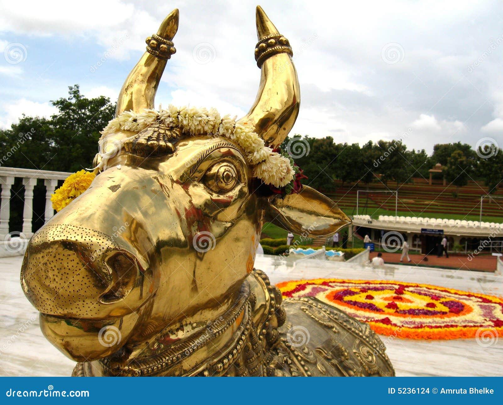 Deus indiano de Bull