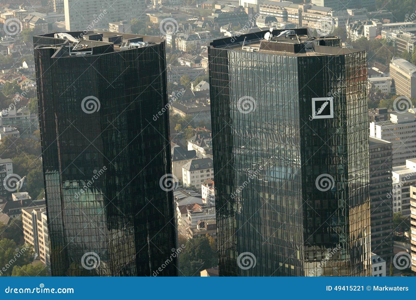 Download Deutsche Bank-Hauptsitze redaktionelles foto. Bild von finanziell - 49415221