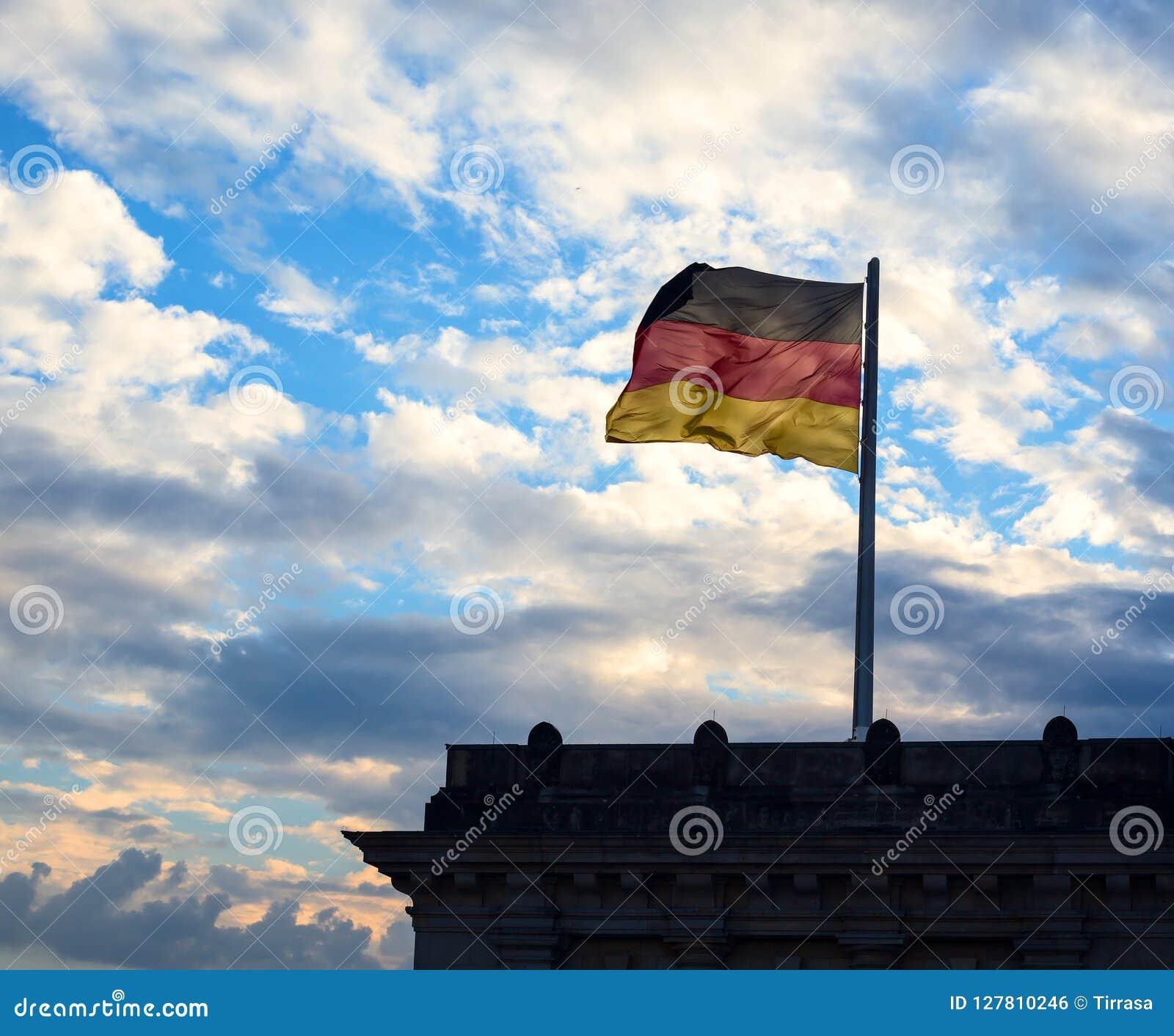 Deutsche Flagge in Berlin