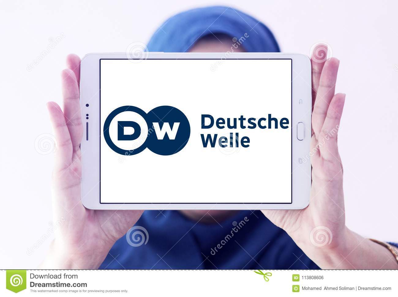 Deutsche Welle broadcaster logo