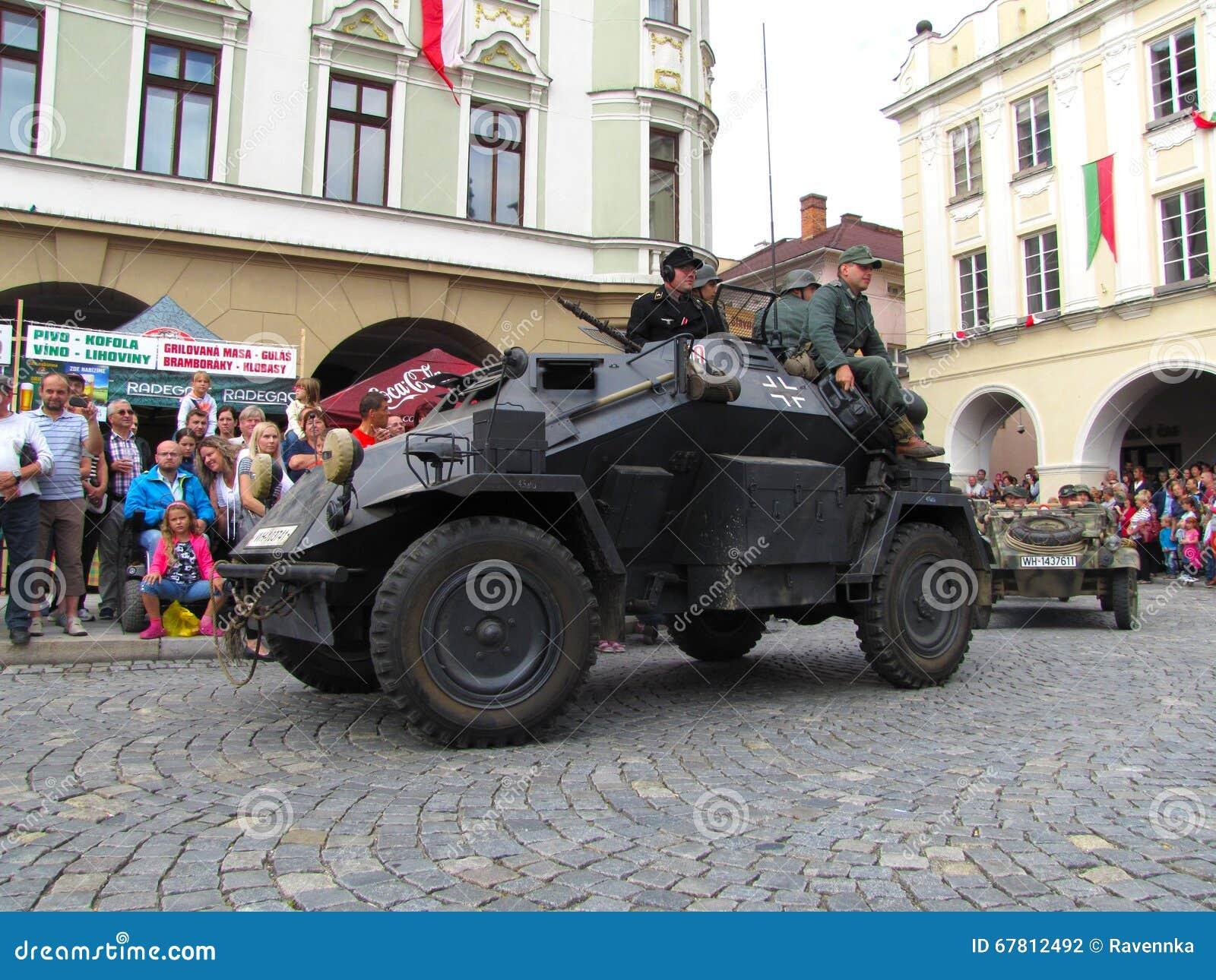 Deutsches helles gepanzertes Untersuchungsfahrzeug SdKfz 222 von Seco
