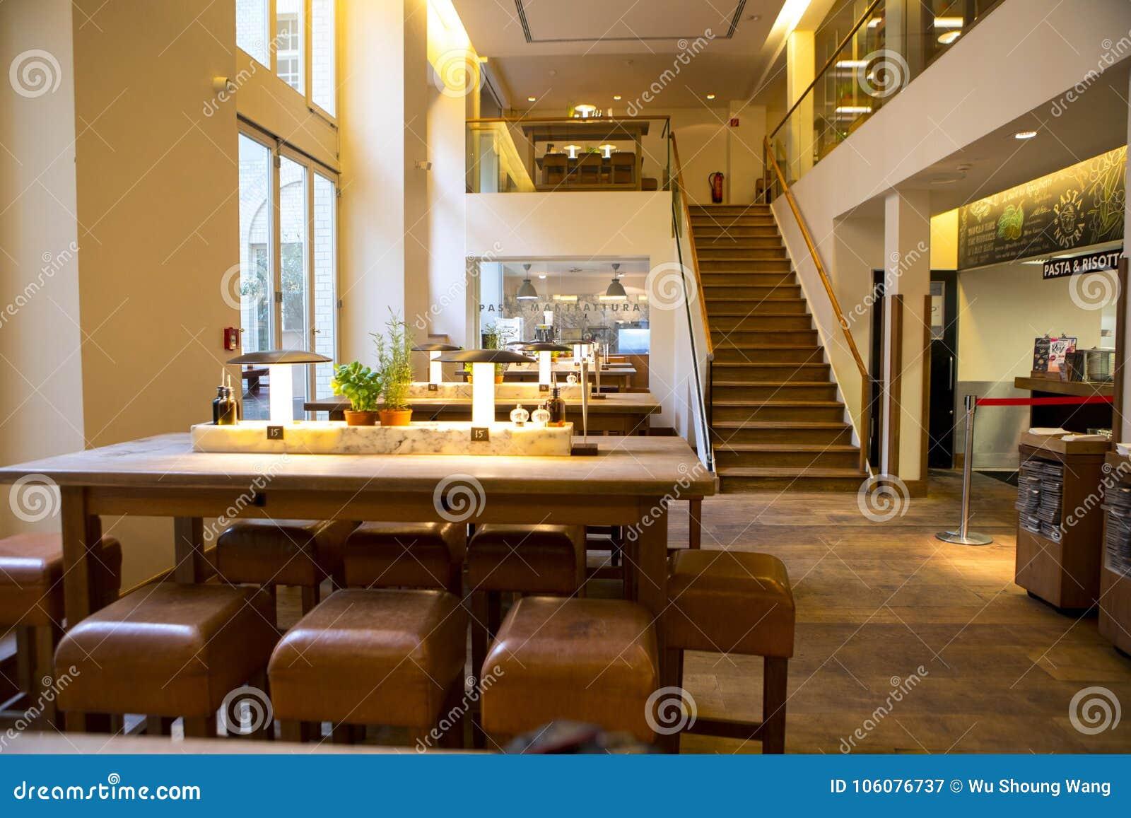 Deutschland Berlin, Italienisches Restaurant, Buffetrestaurant ...
