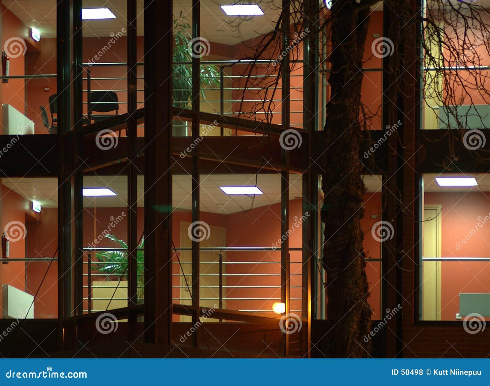 Download Deux étages photo stock. Image du moderne, couloir, salles - 50498