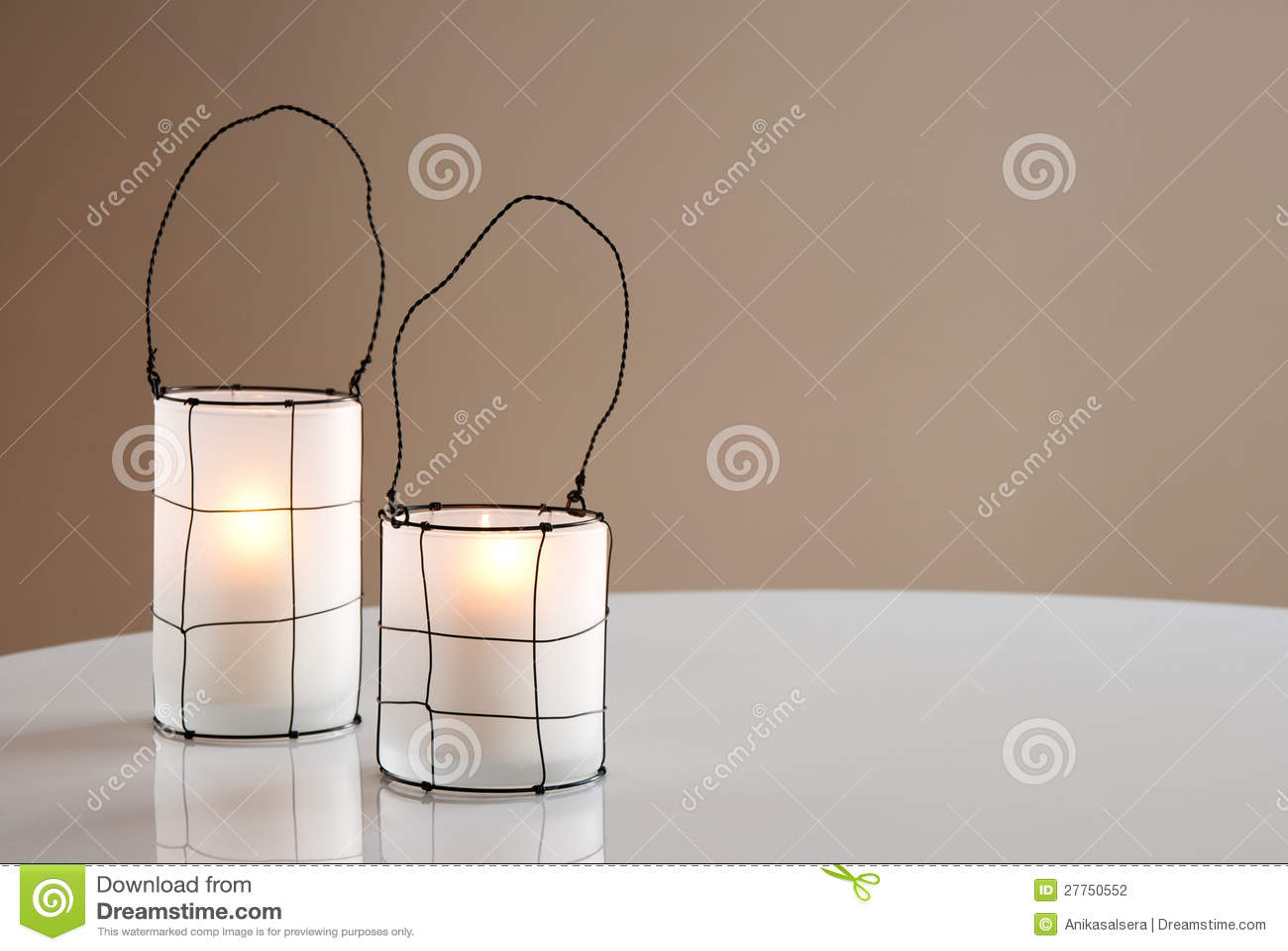 Deux belles lanternes