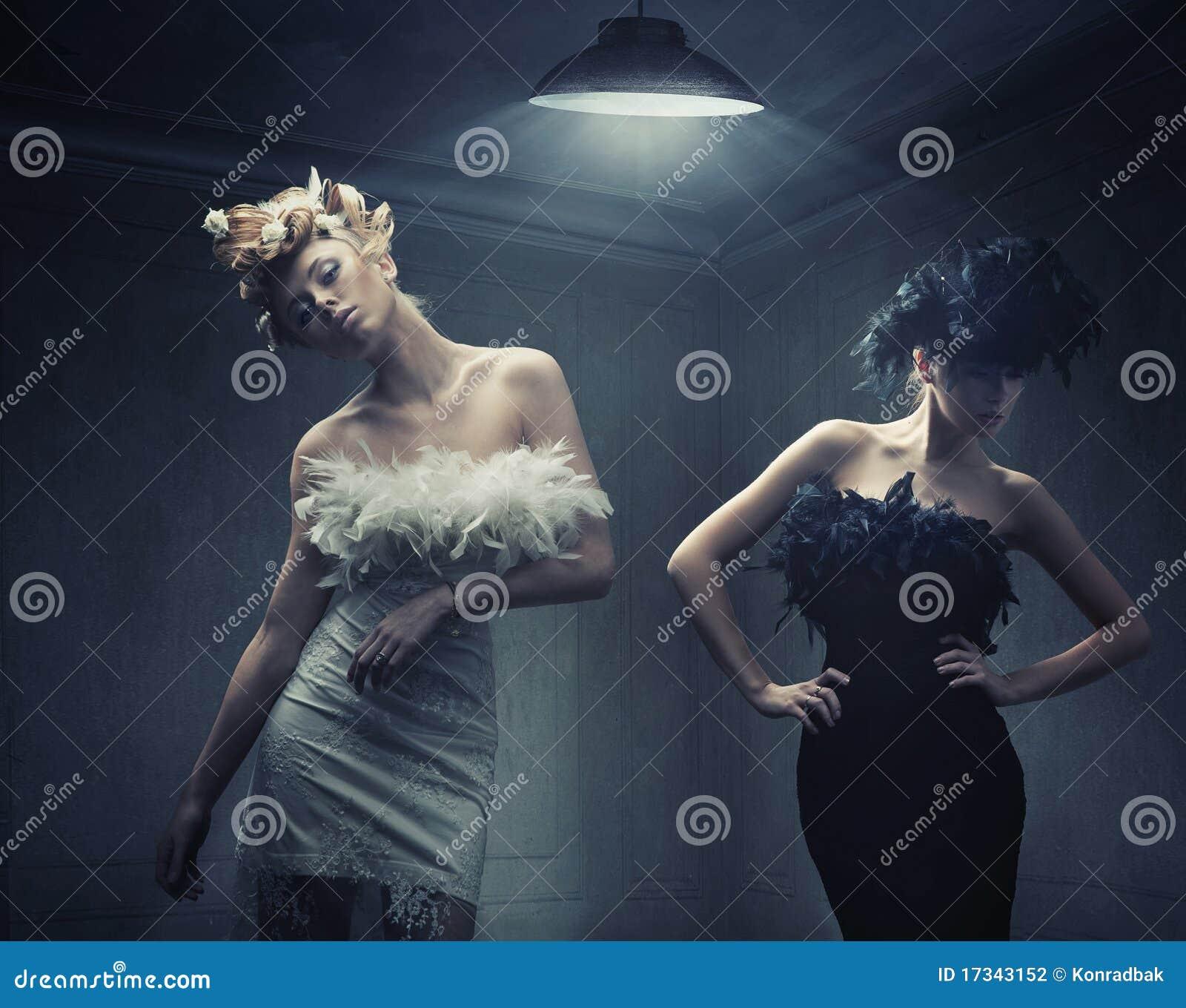Deux dames de mode