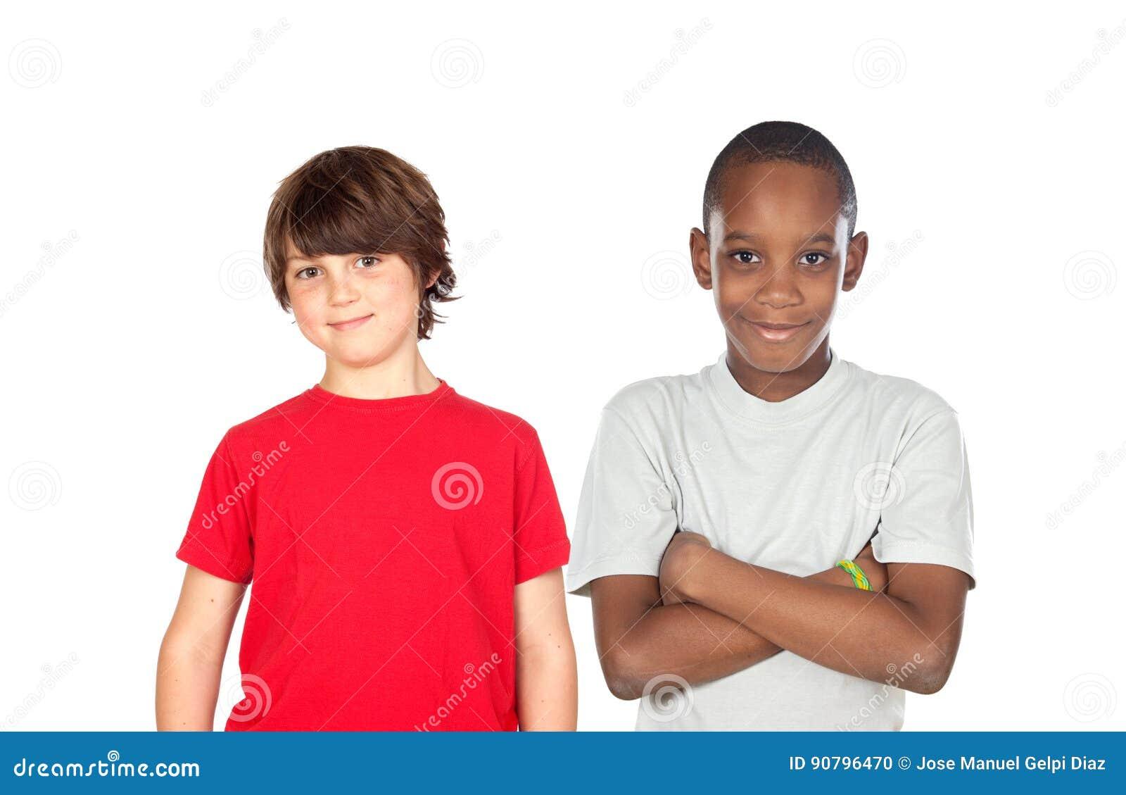 Deux garçons