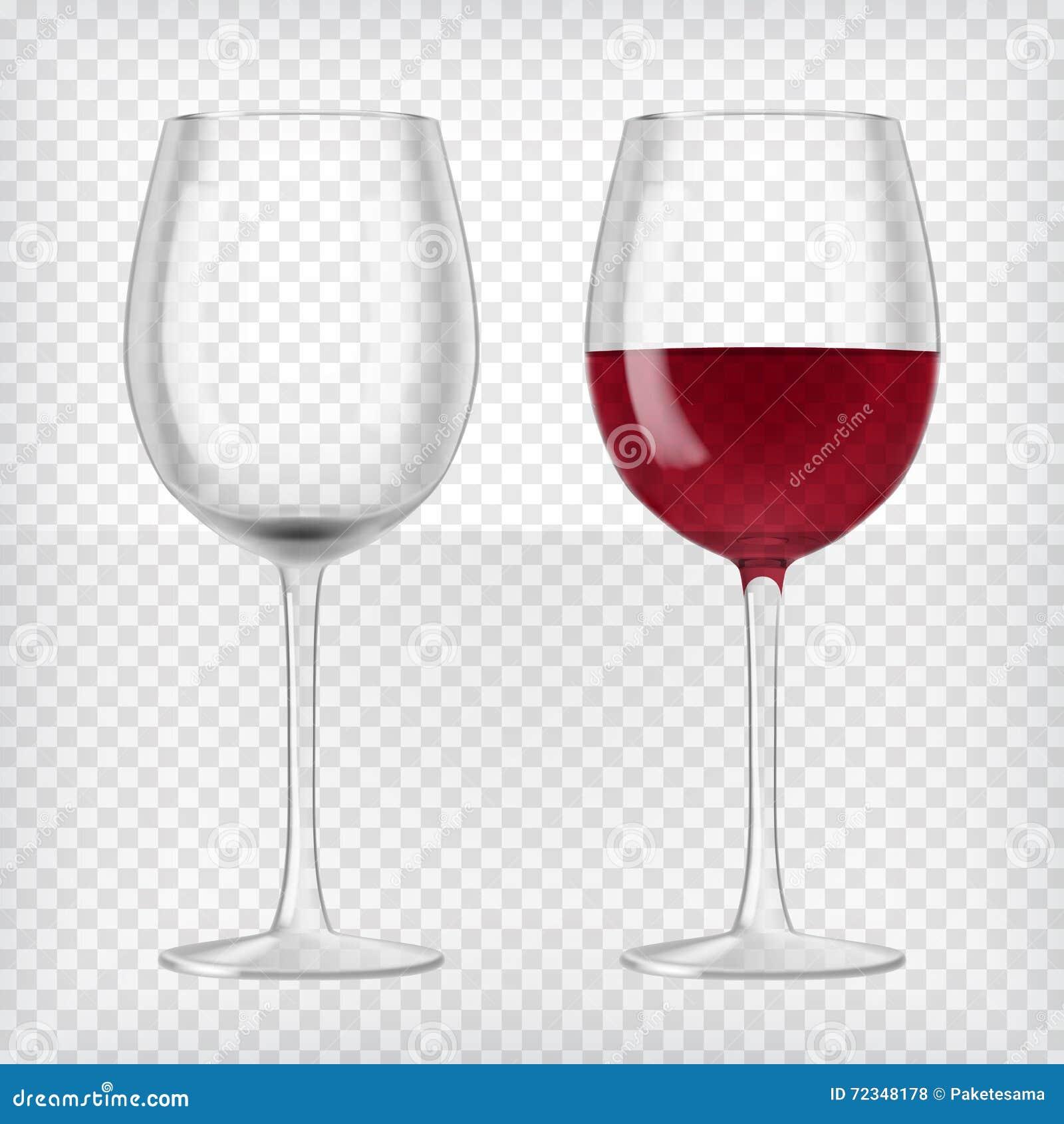 Deux glaces de vin