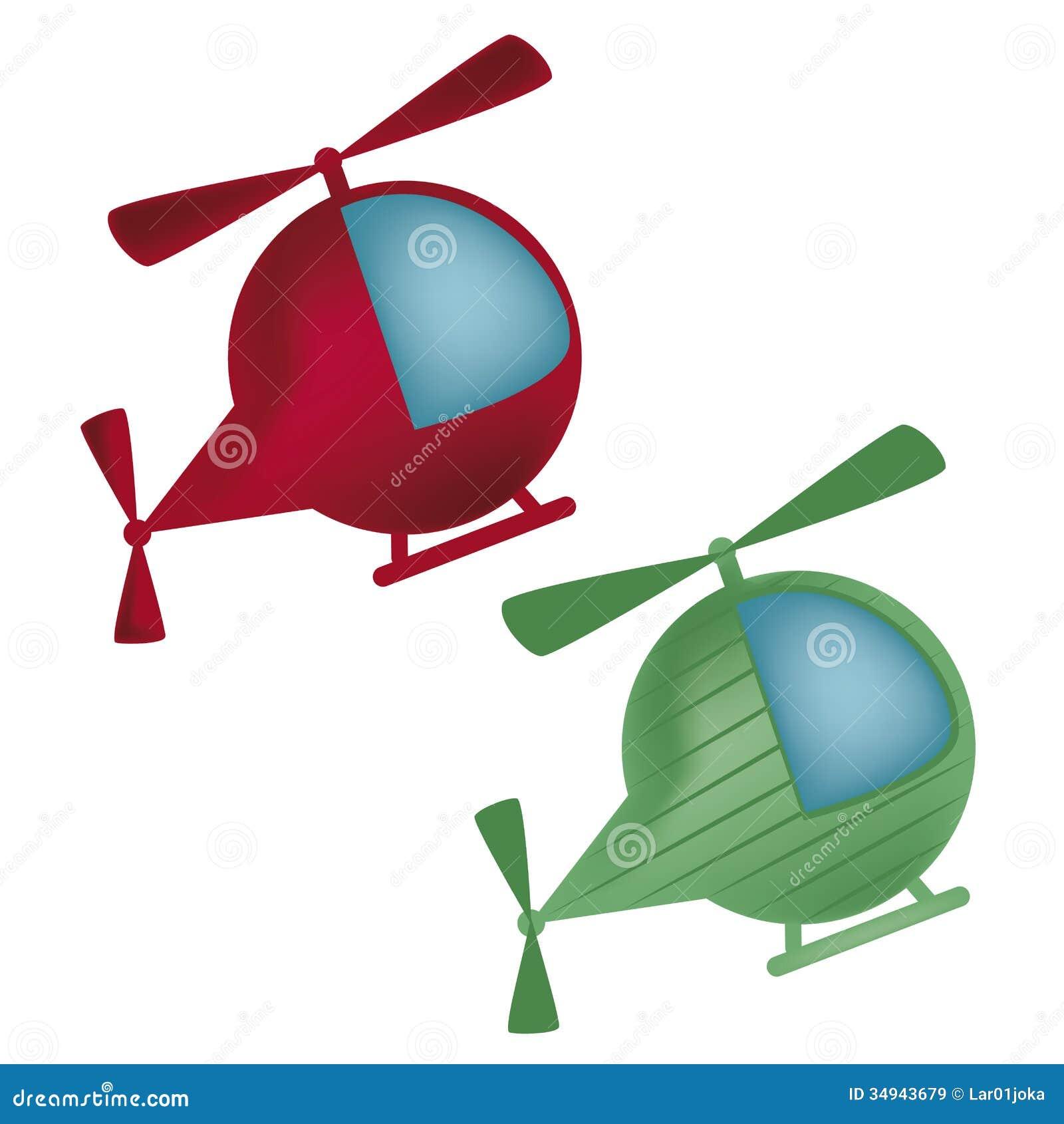 Deux hélicoptères