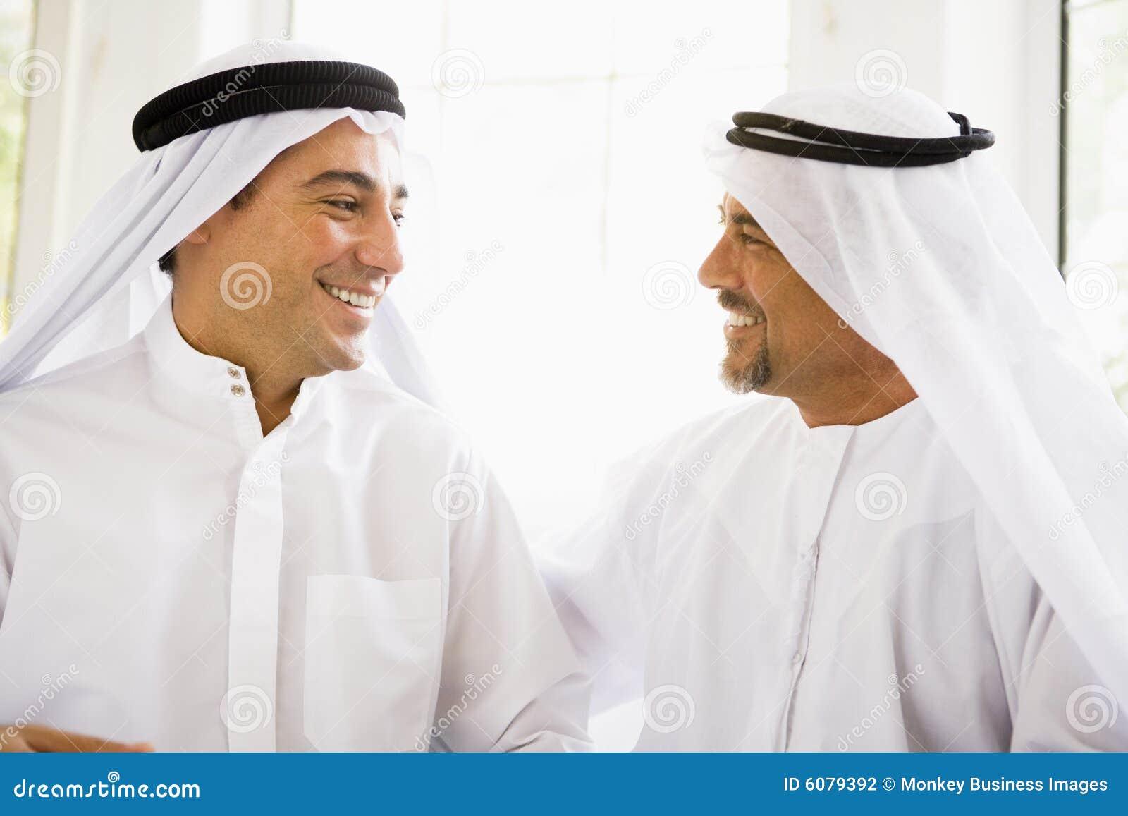 Deux hommes du Moyen-Orient