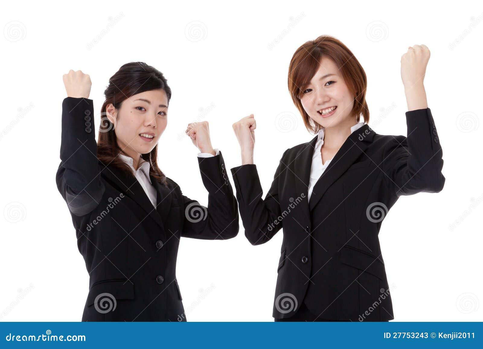 Deux jeunes gens d affaires