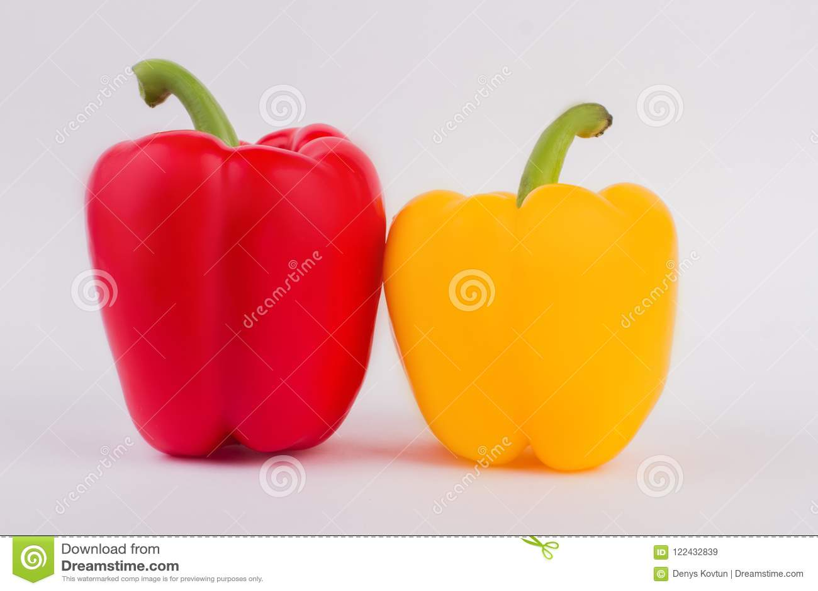 Deux légumes de paprika