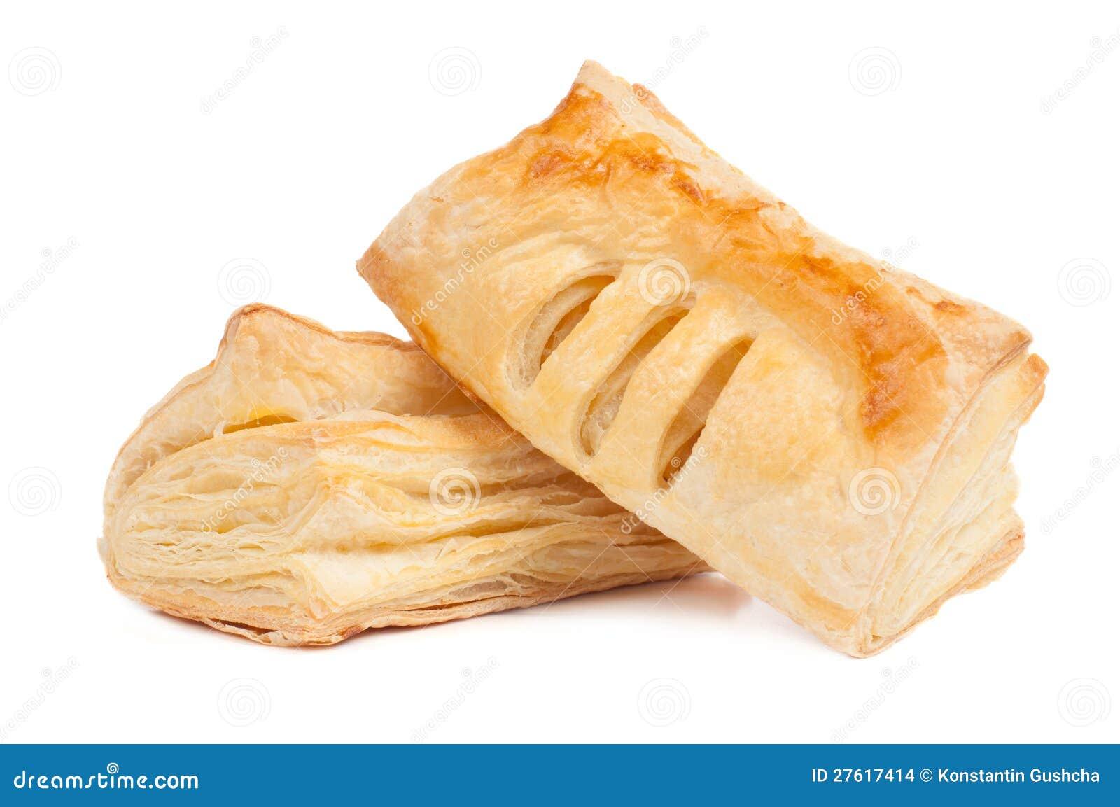 Deux parties de pâte feuilletée