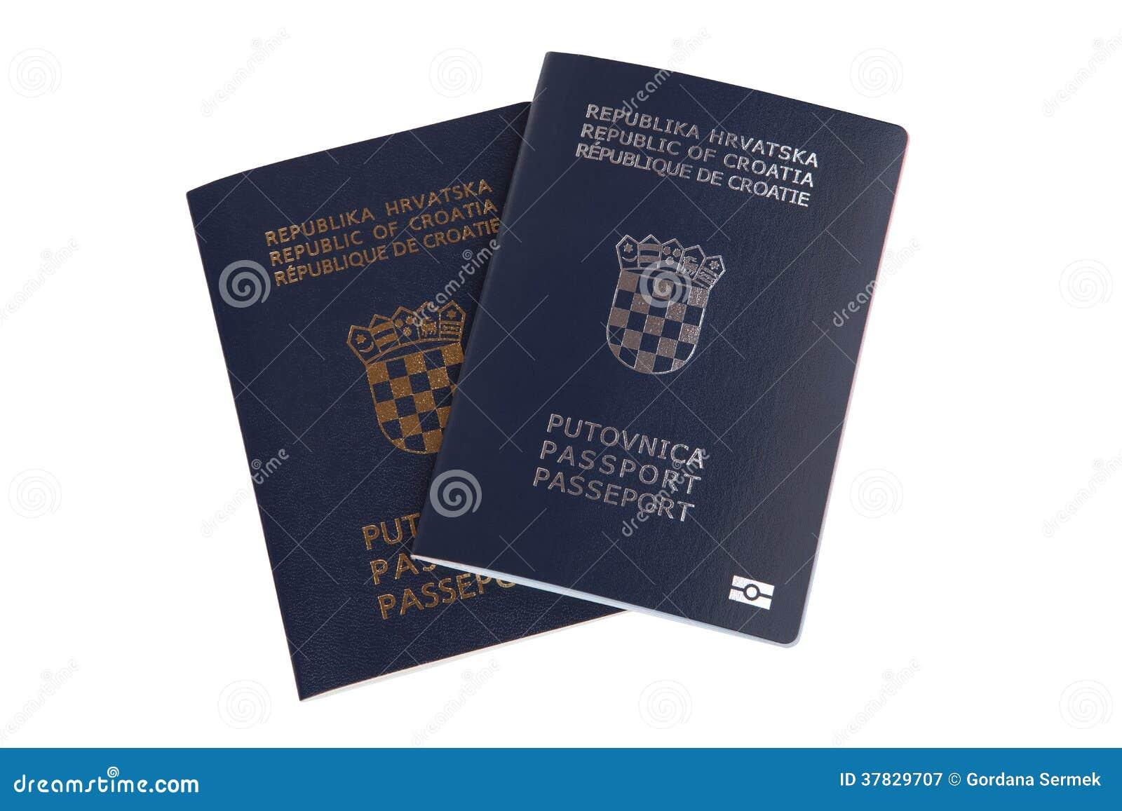 Deux passeports croates