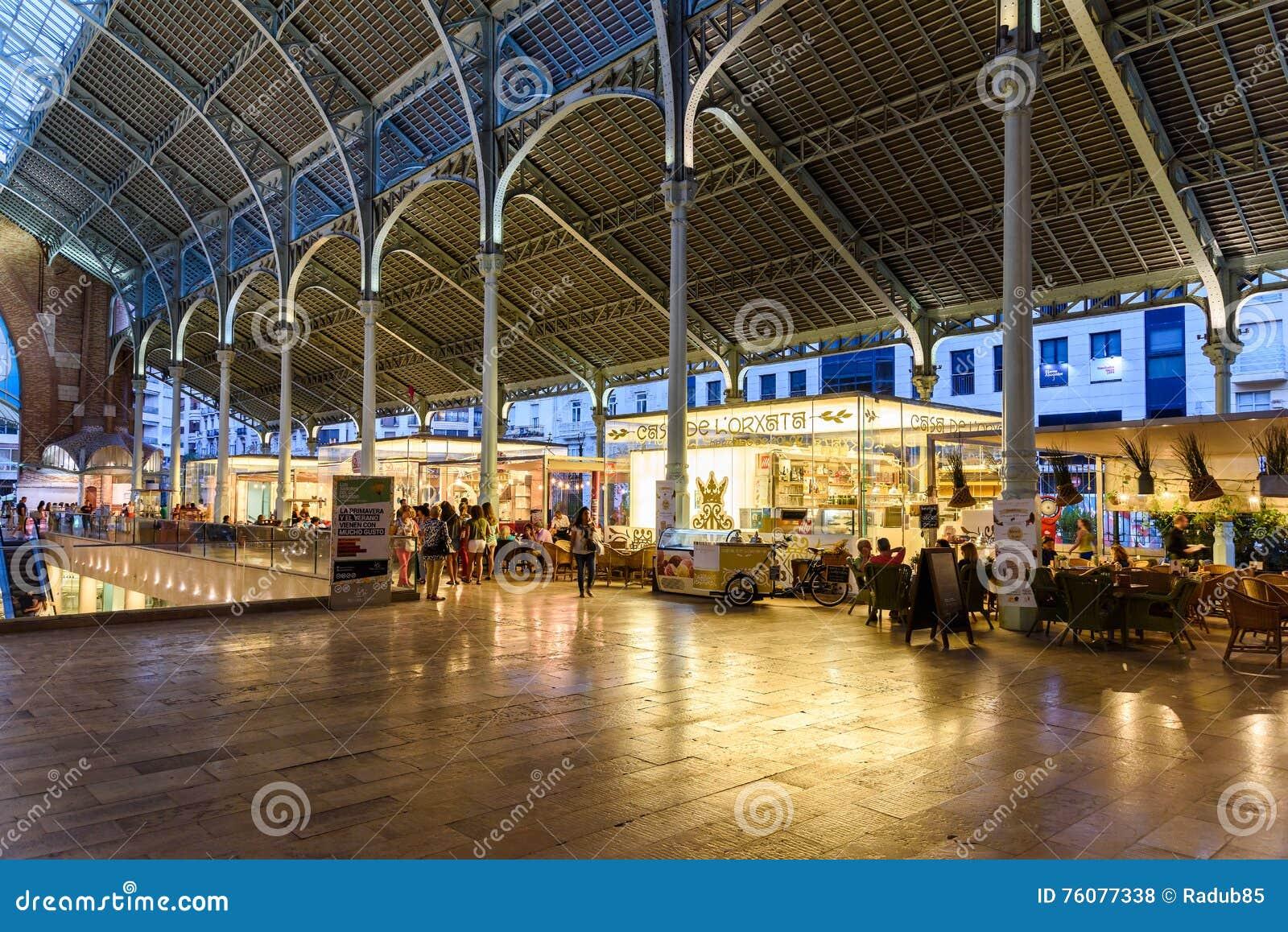 Deux points de Mercado à Valence