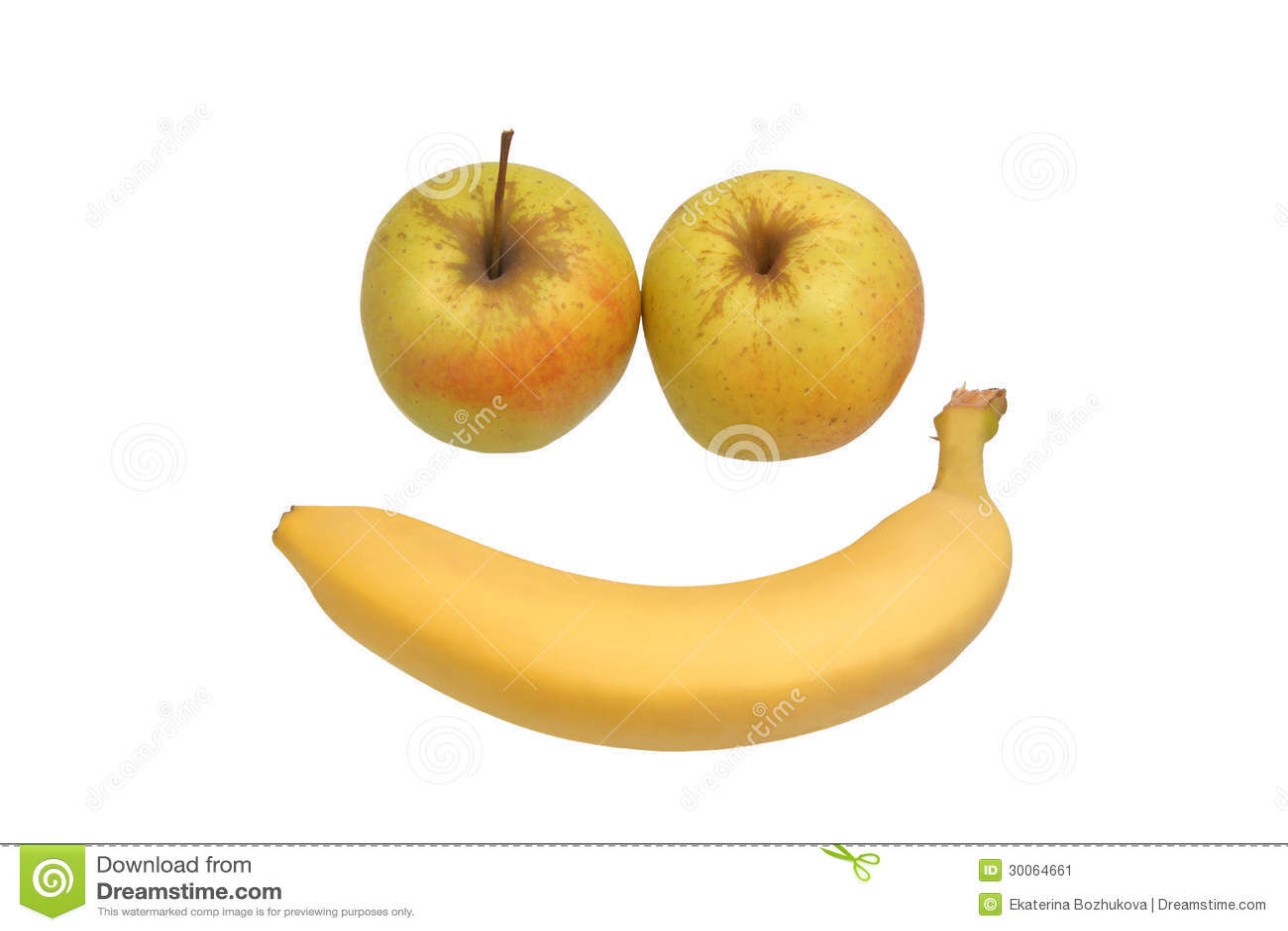 Bite en forme de banane