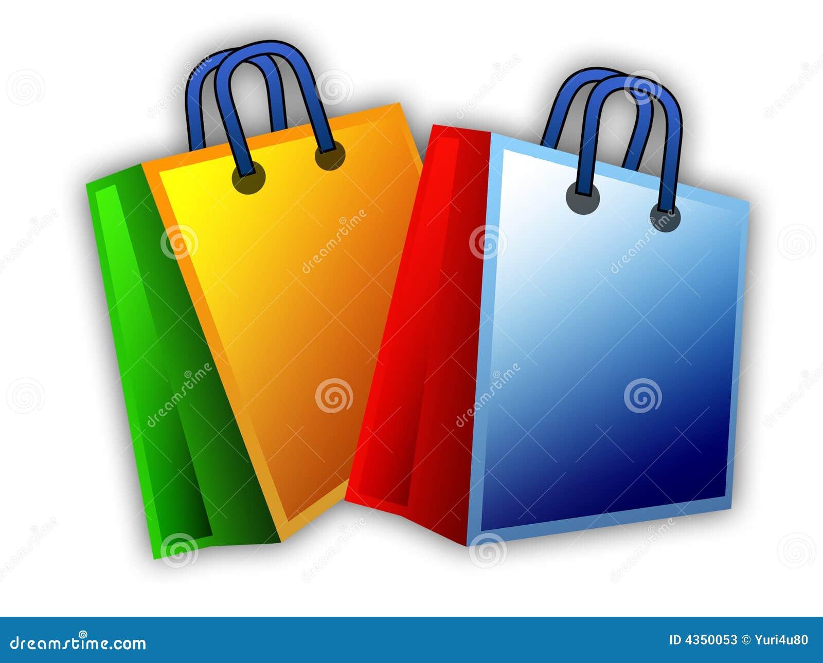 Deux sacs à provisions