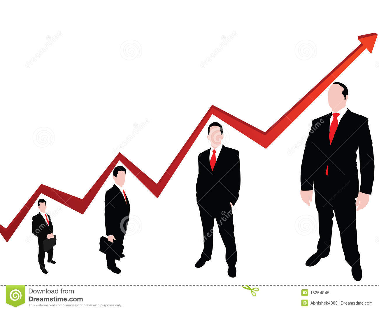 Royalty Free Stock Photo: Developing graph: www.dreamstime.com/royalty-free-stock-photo-developing-graph...
