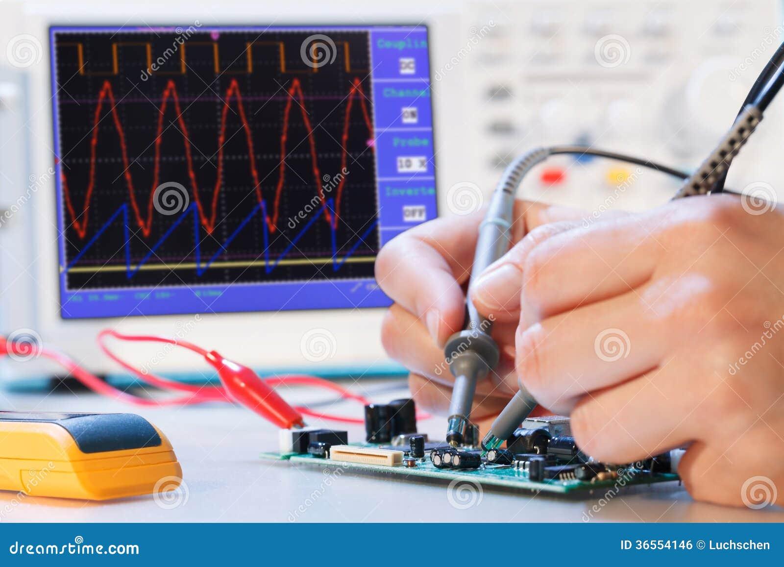 Development electronic micro processor