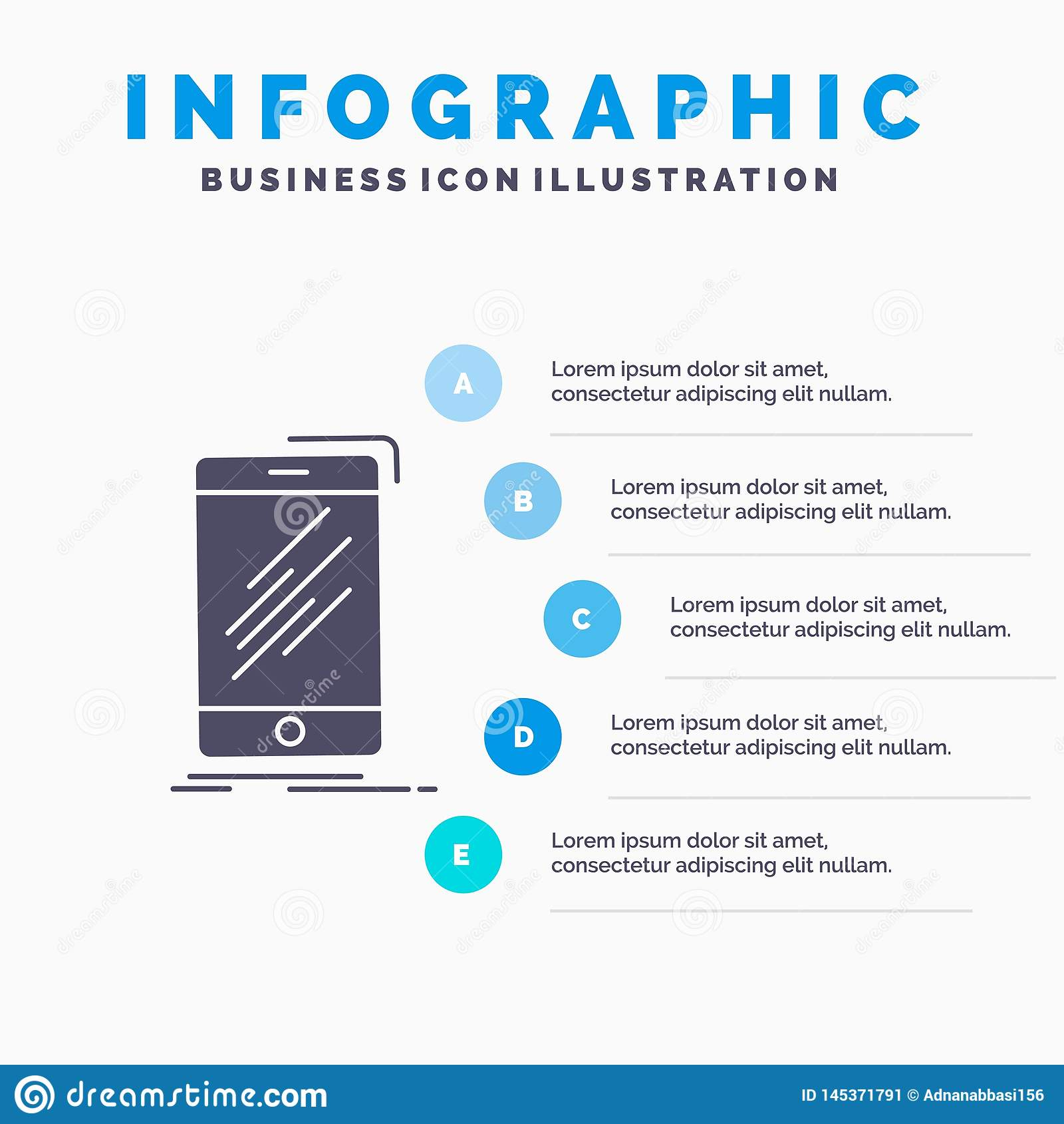 Device, Mobile, Phone, Smartphone, Telephone Infographics