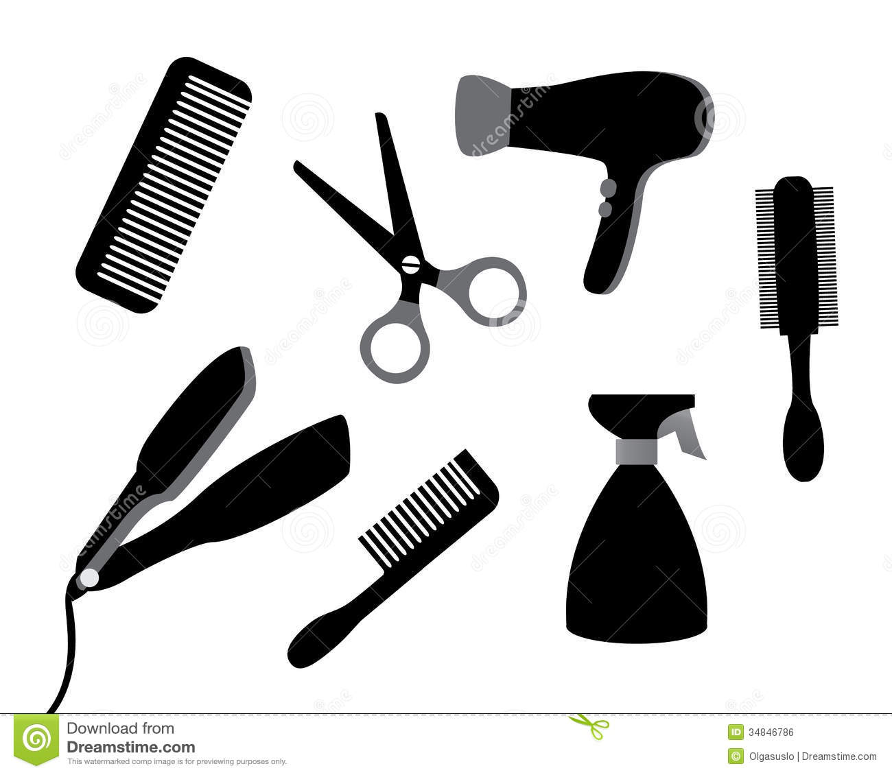 Devices For Hair Care Royalty Free Stock Image Image