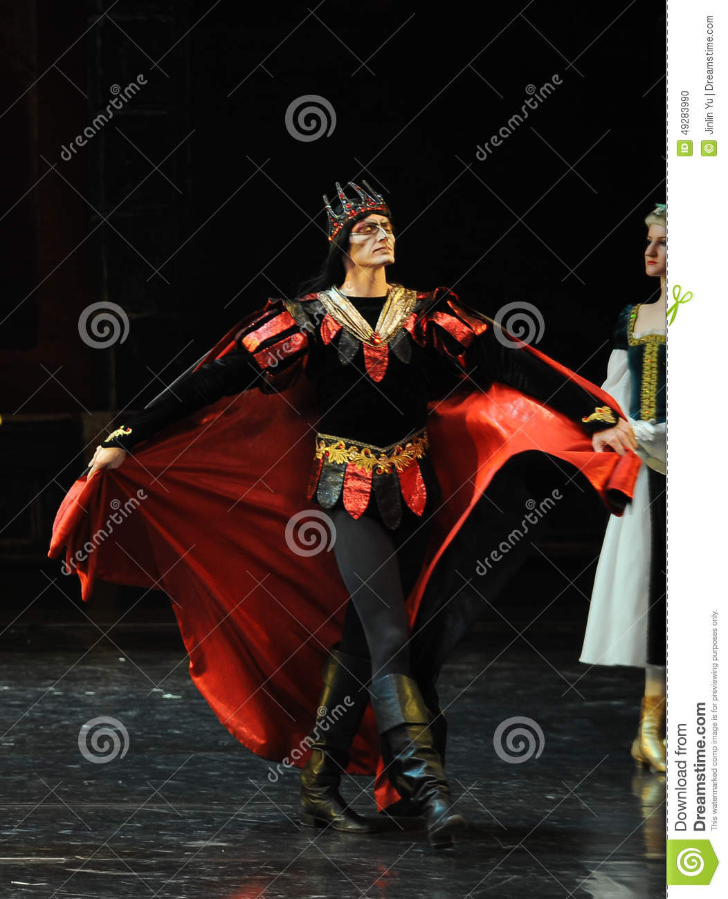 The Devil Rothbart-The Prince Adult Ceremony-ballet Swan
