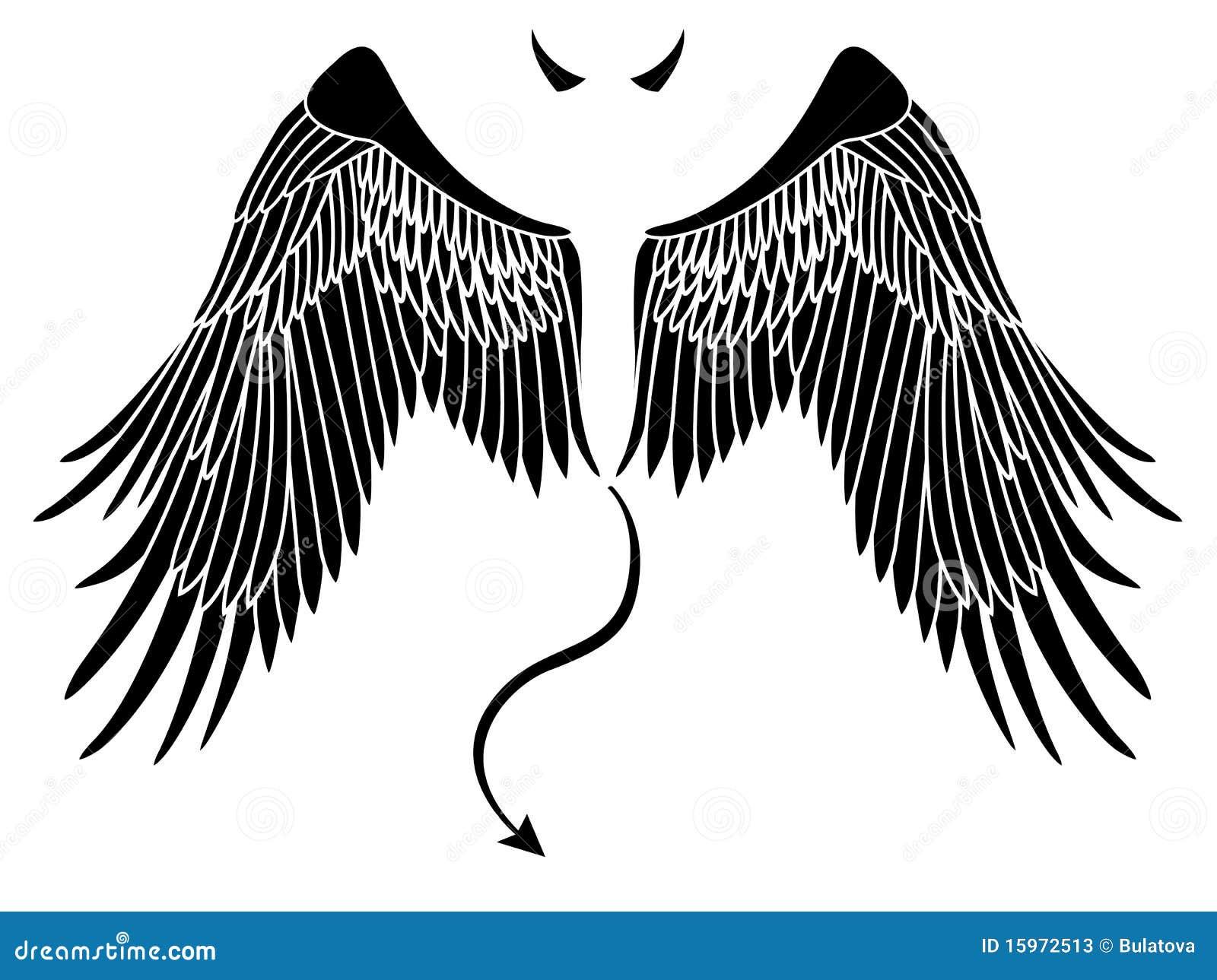 Cuernos De Diablo Png: Devil Wings Stock Photos