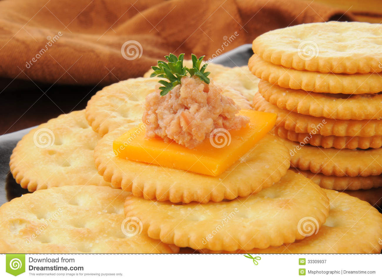 Deviled ham and cheese canapes royalty free stock for Canape with cheese
