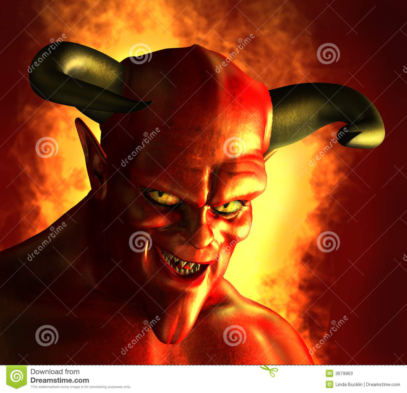 Devilish Grin Stock Illustration. Illustration Of Devil