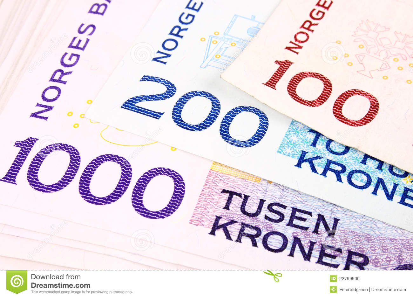 Devise norvégienne 1000b