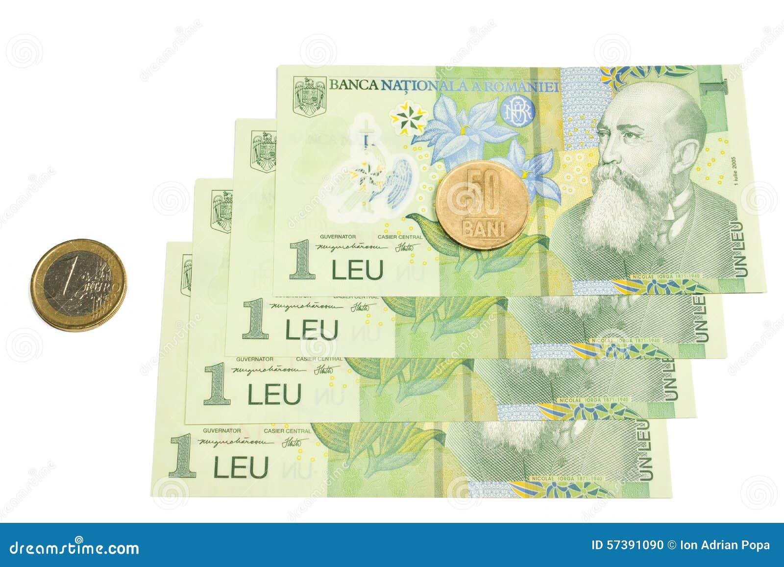 Devise roumaine nationale, romanesc de leu