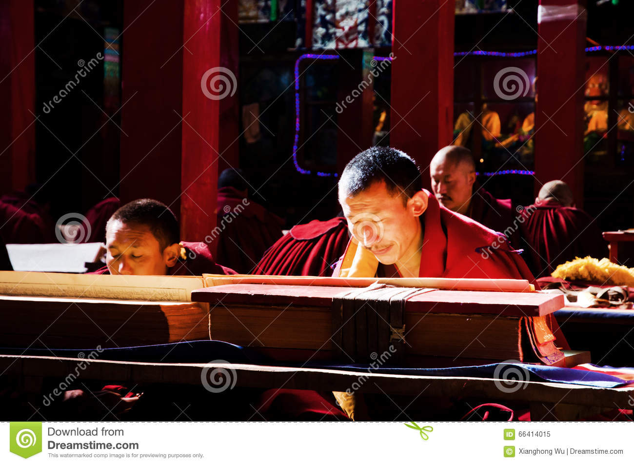 The Devout Monks