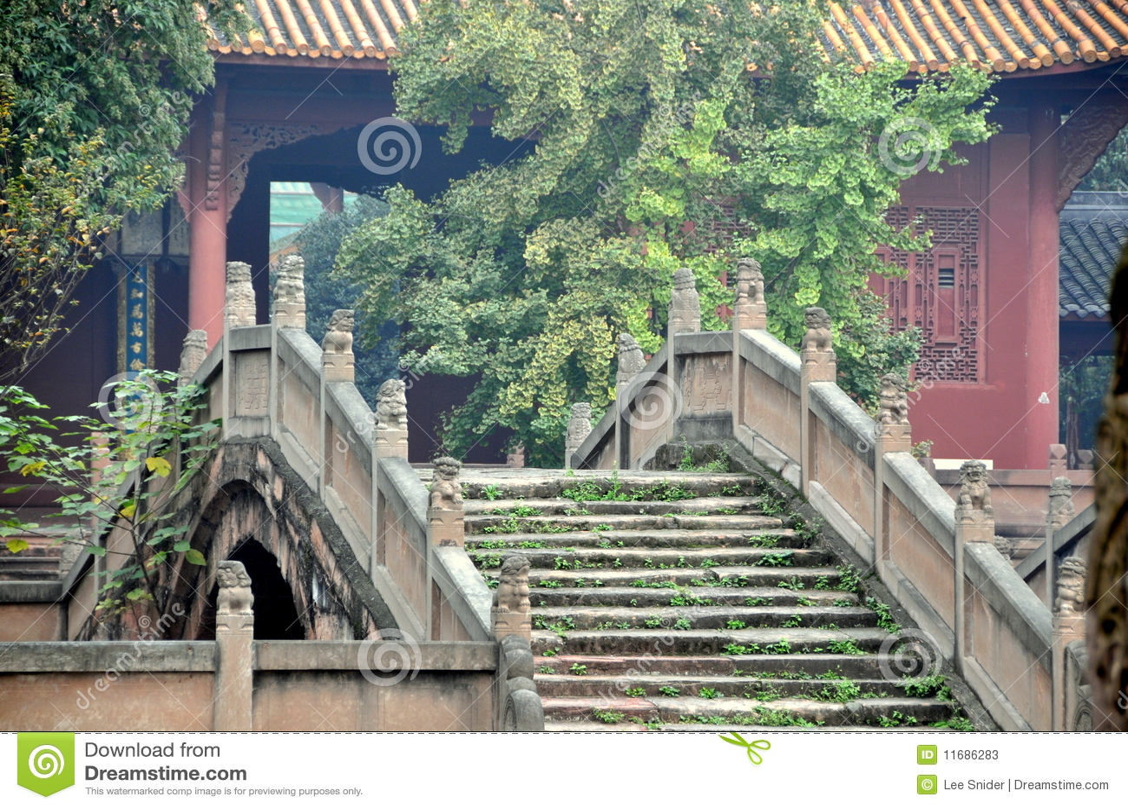 Deyang China  city photos : Deyang, China: Pan Bridge At Confucian Temple Stock Photos Image ...