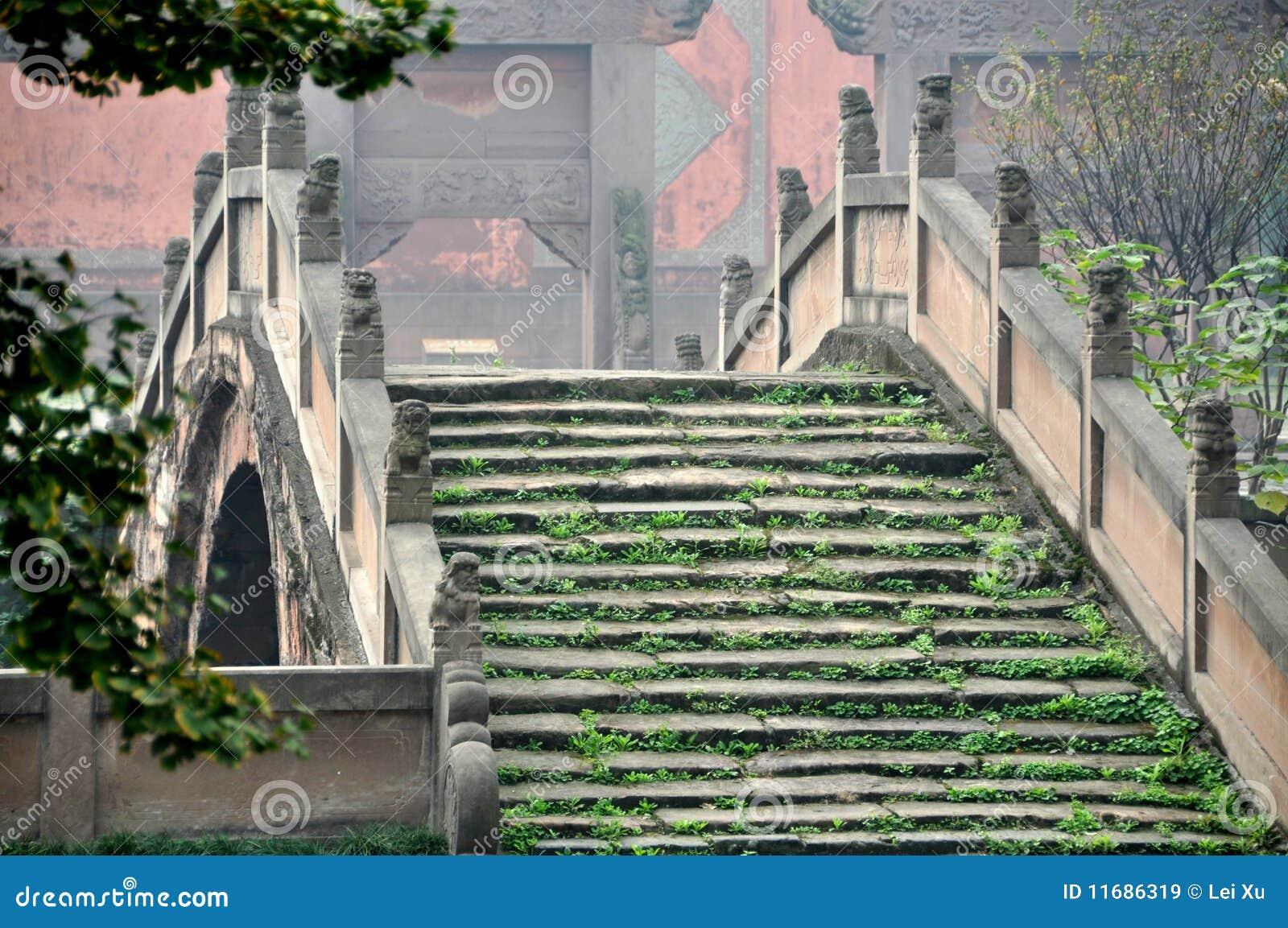 Deyang China  city photos : Deyang, China: Pan Bridge At Confucian Temple Royalty Free Stock ...