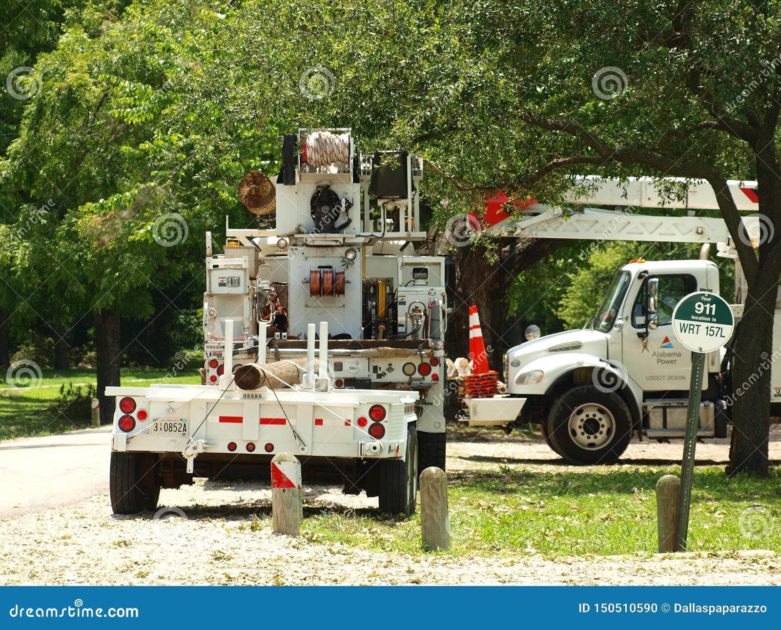 Deze Bemanning van Alabama was Één van 11 Staten die kwamen helpen