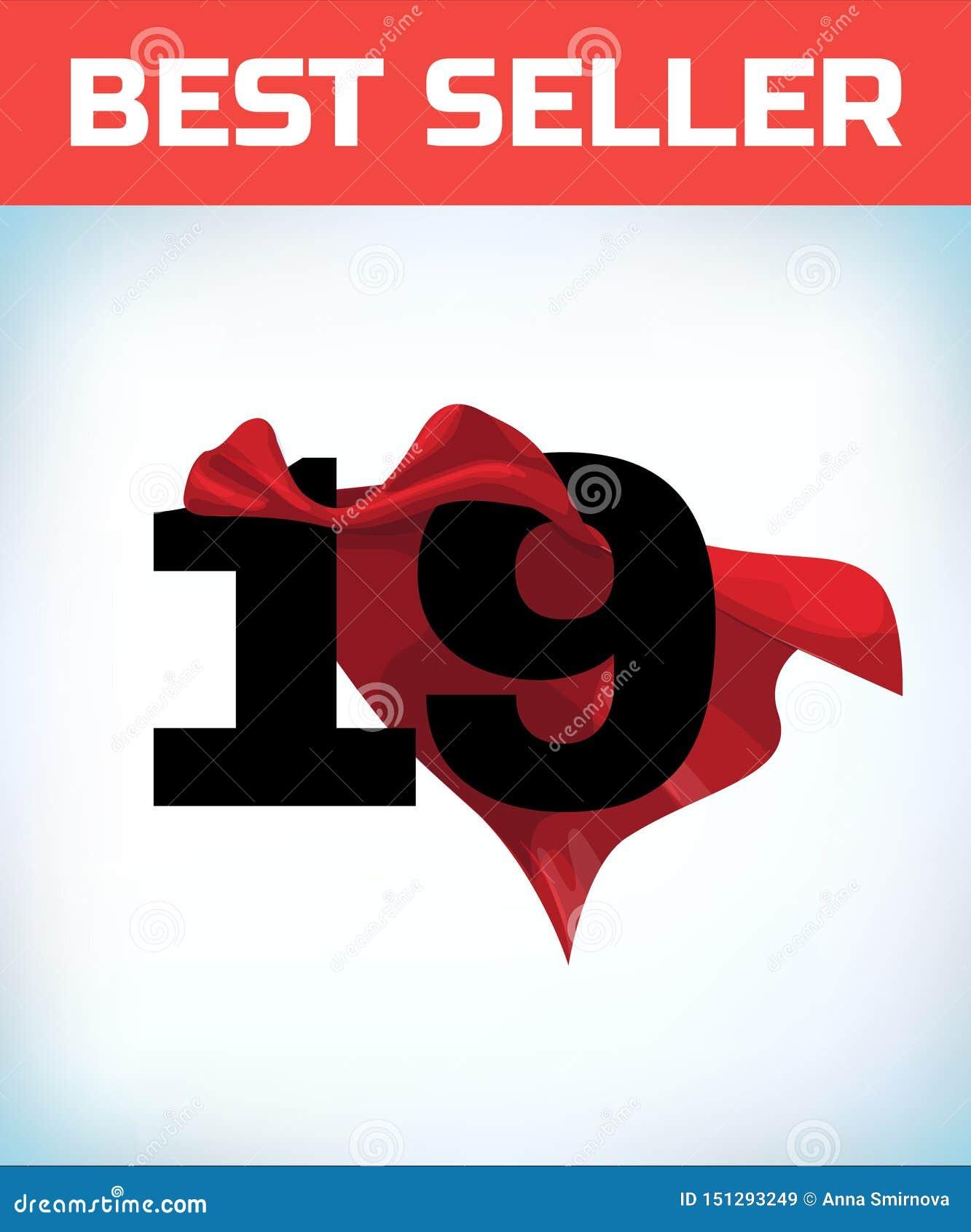 Dezenove no cabo vermelho do herói Casaco super Poder super Conceito do poder Sinal da lideran?a S?mbolo do super-her?i