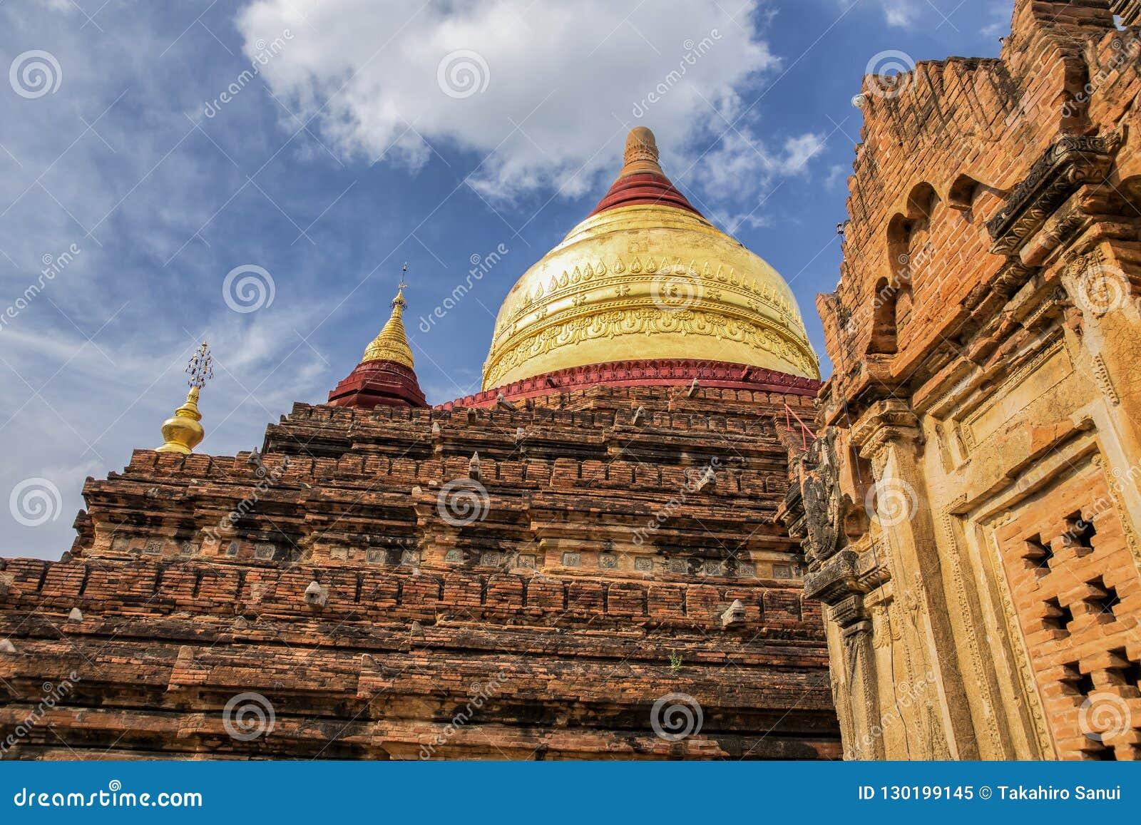 Dhammayzika świątynia w Bagan Myanmar
