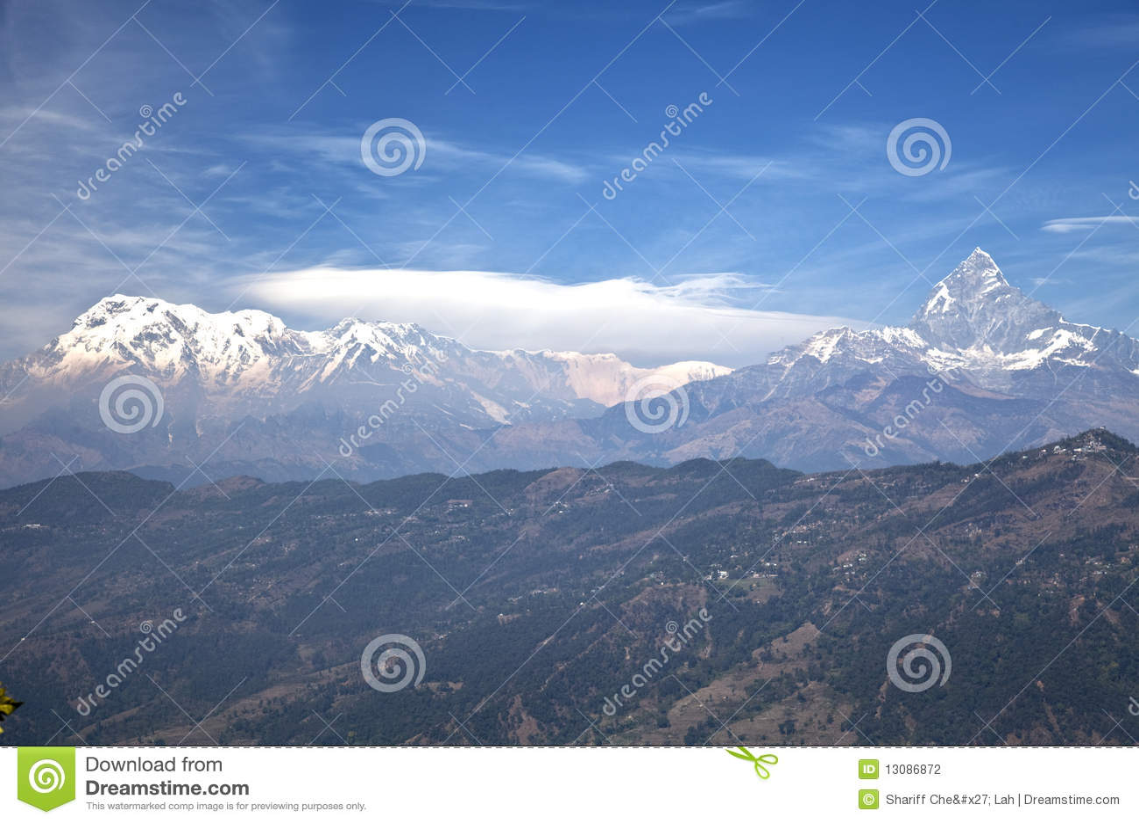 Dhaulagiri-Annapurna-Manaslu Waaier, Nepal