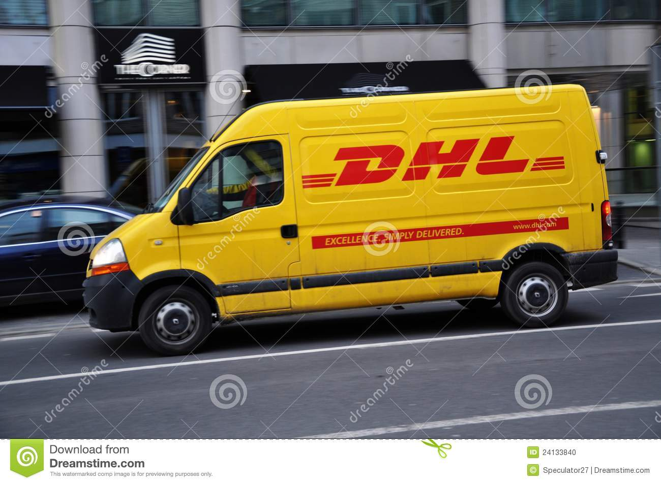 Dhl Courier Delivery Service Editorial Image Image 24133840