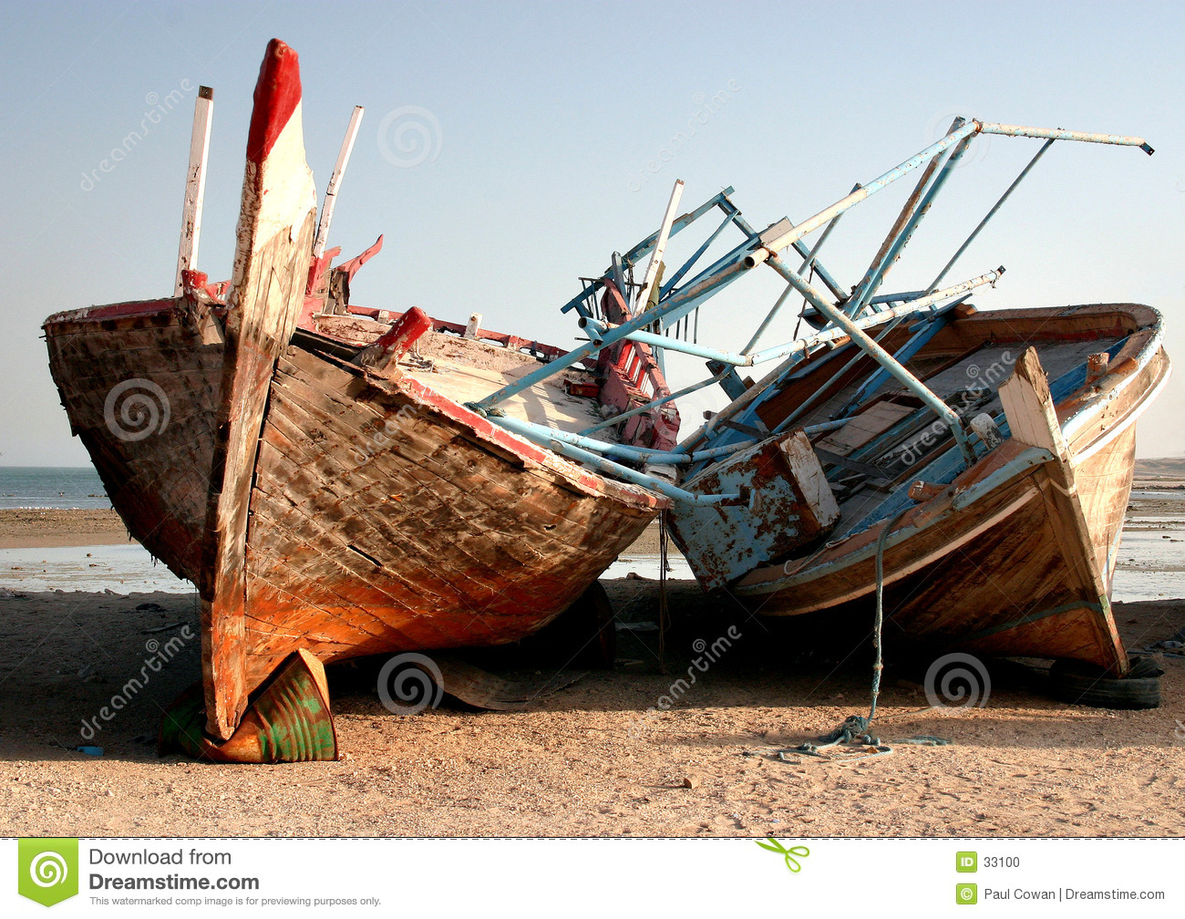 Dhows opuszczonych