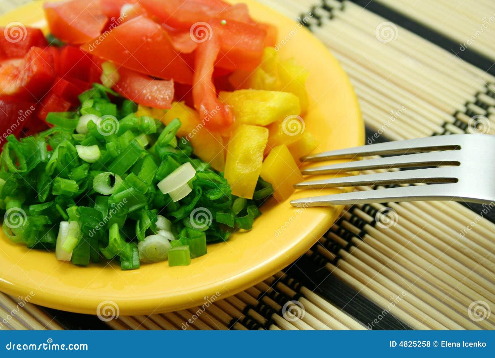 Diätetischer Salat