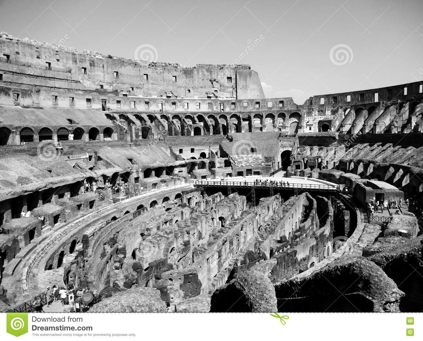 Di Ρώμη Colosseu