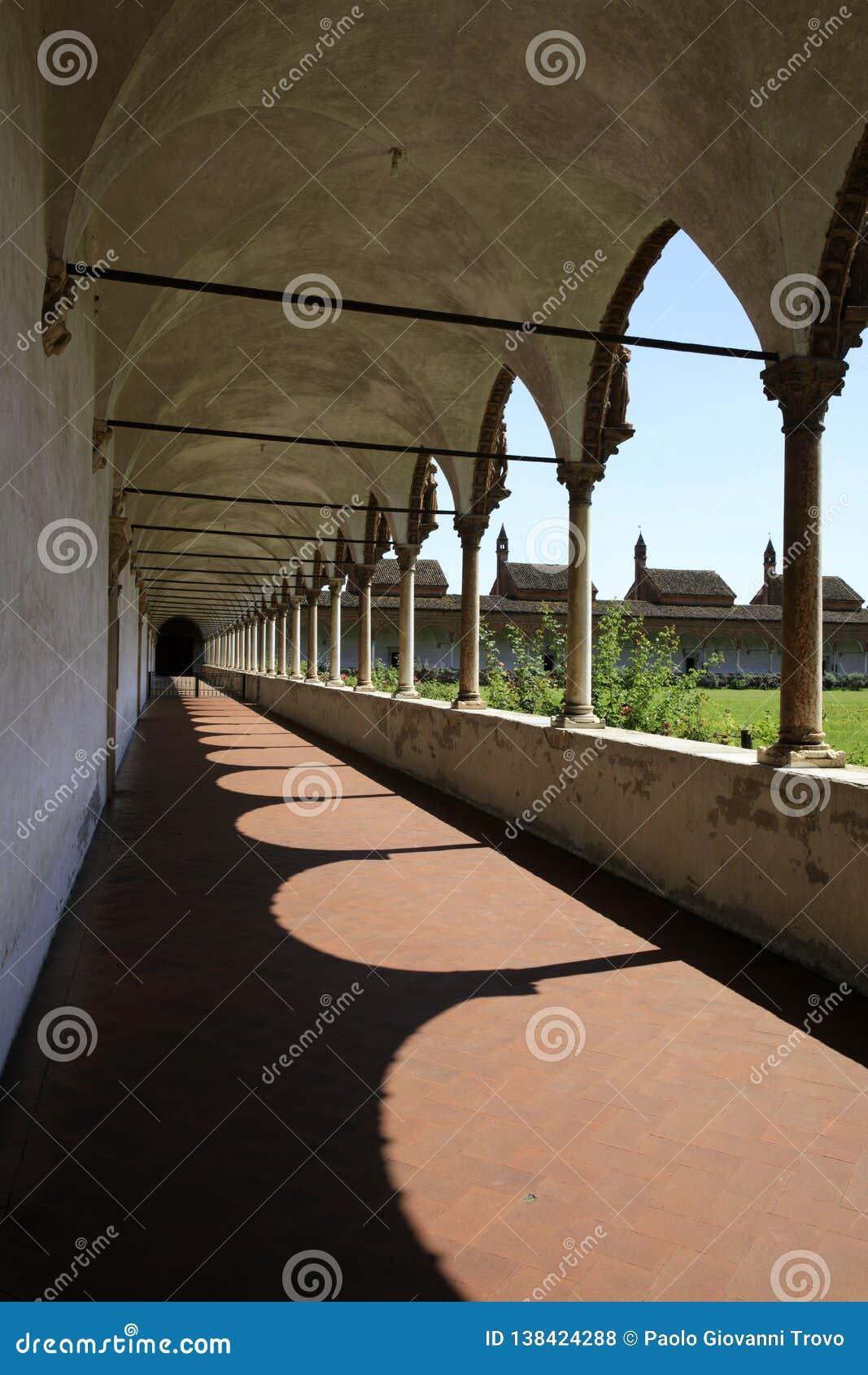 Di Павия Certosa