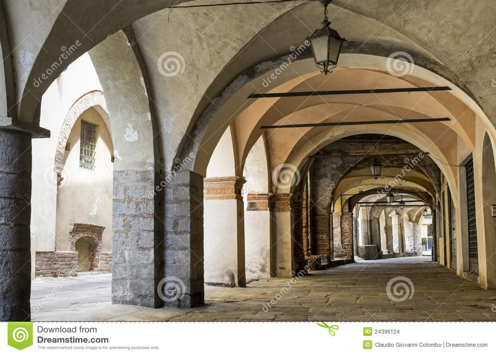 Di Biella, portico di Piazzo