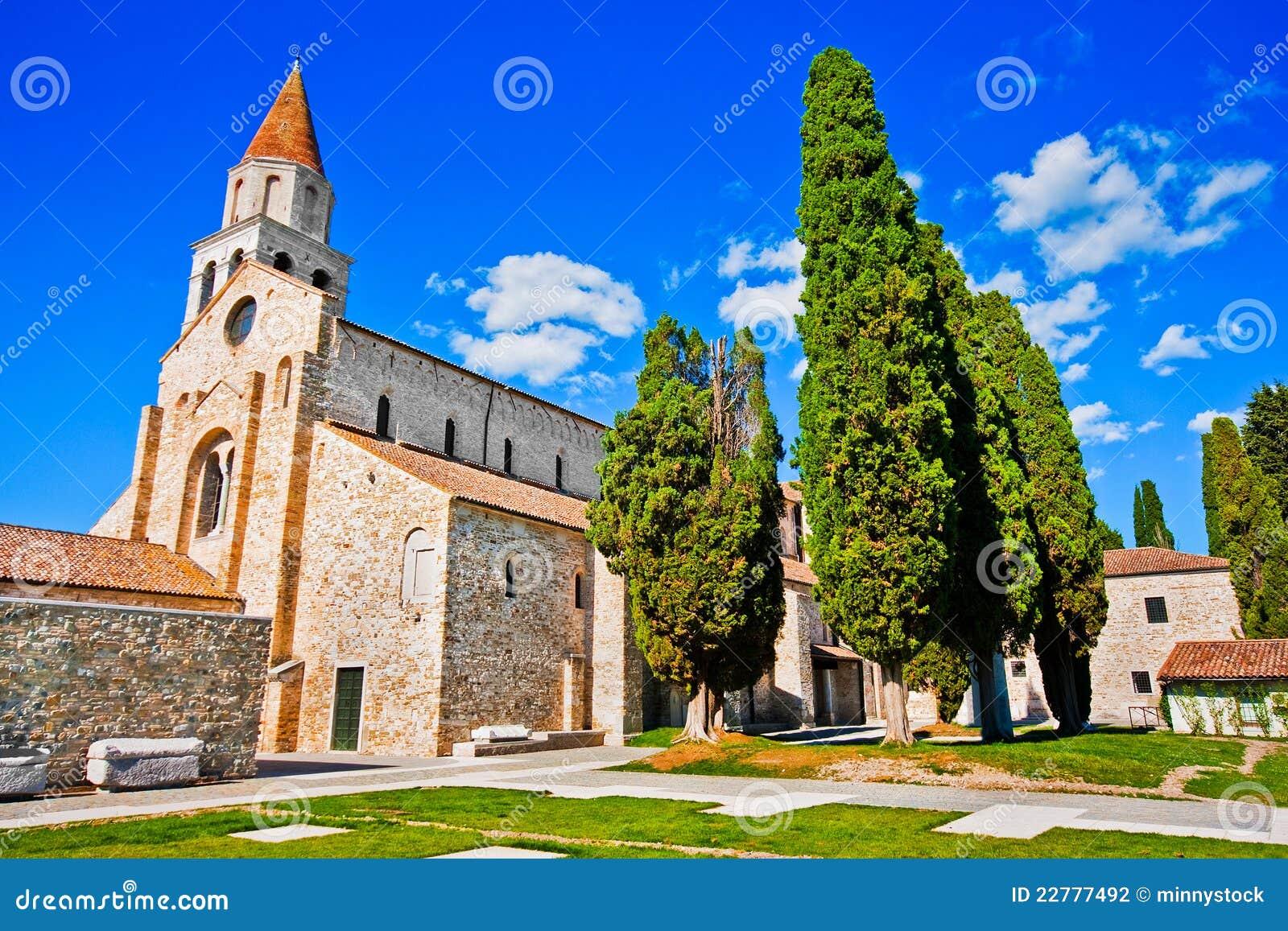 Di de basilique Santa Maria Assunta dans Aquileia