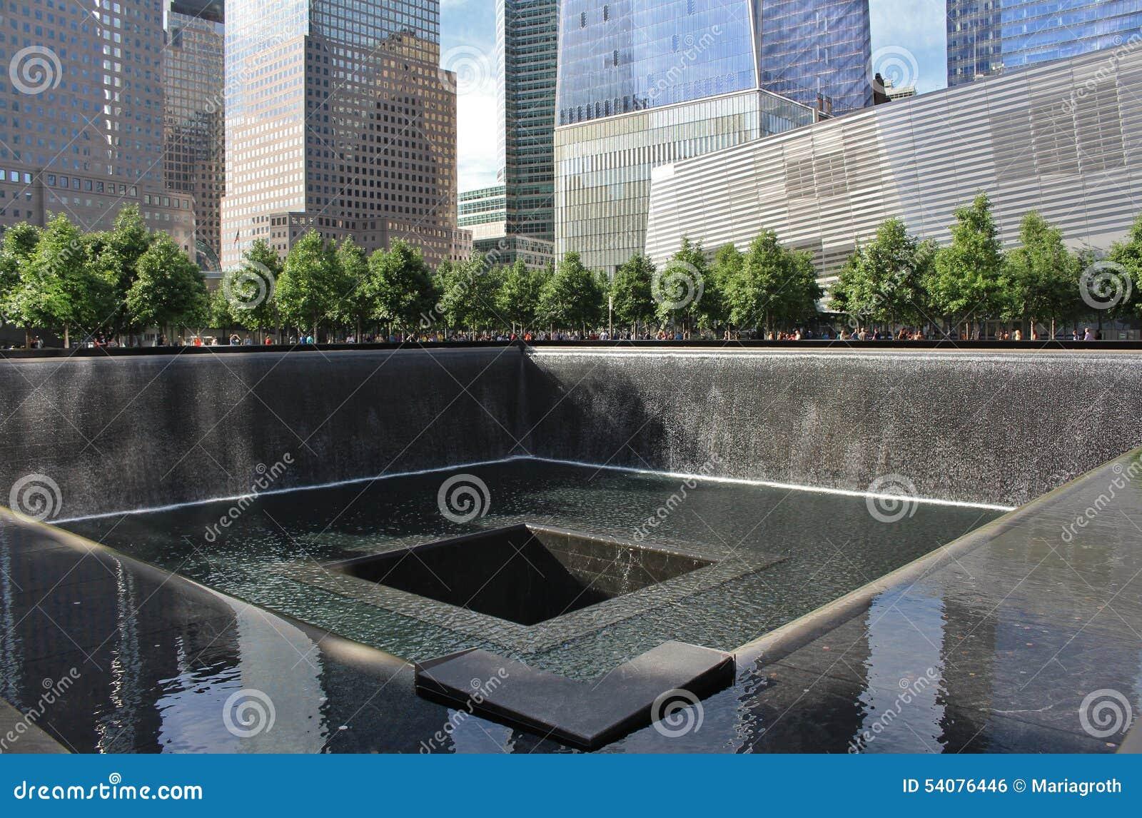 9/11 di memoriale, New York